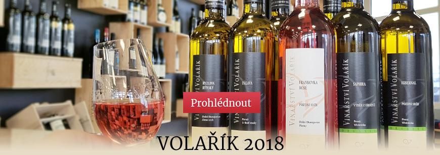 Nová vína z vinařství Volařík