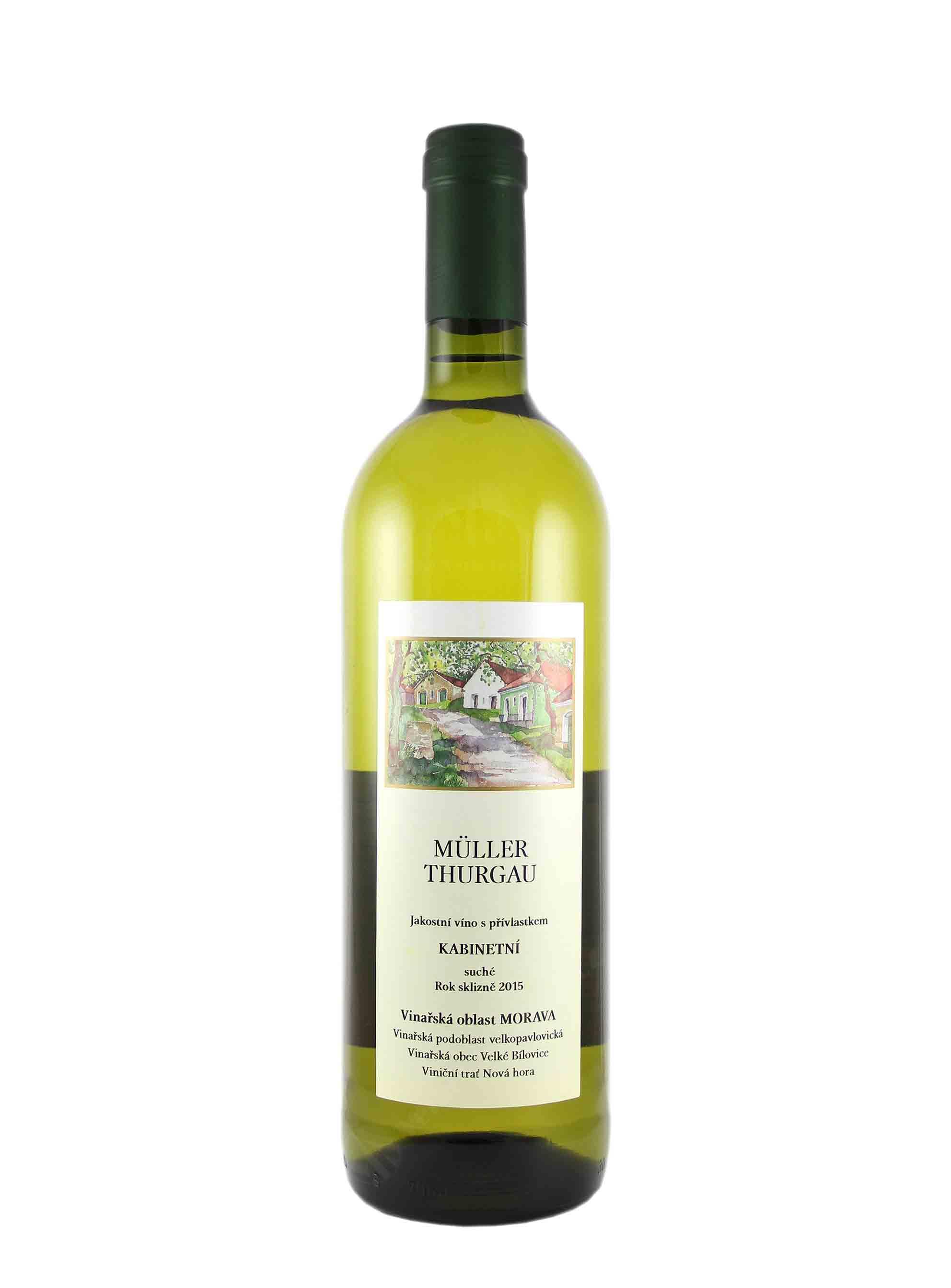 Müller Thurgau, Kabinet, 2015, František Mádl - Malý vinař, 0.75 l