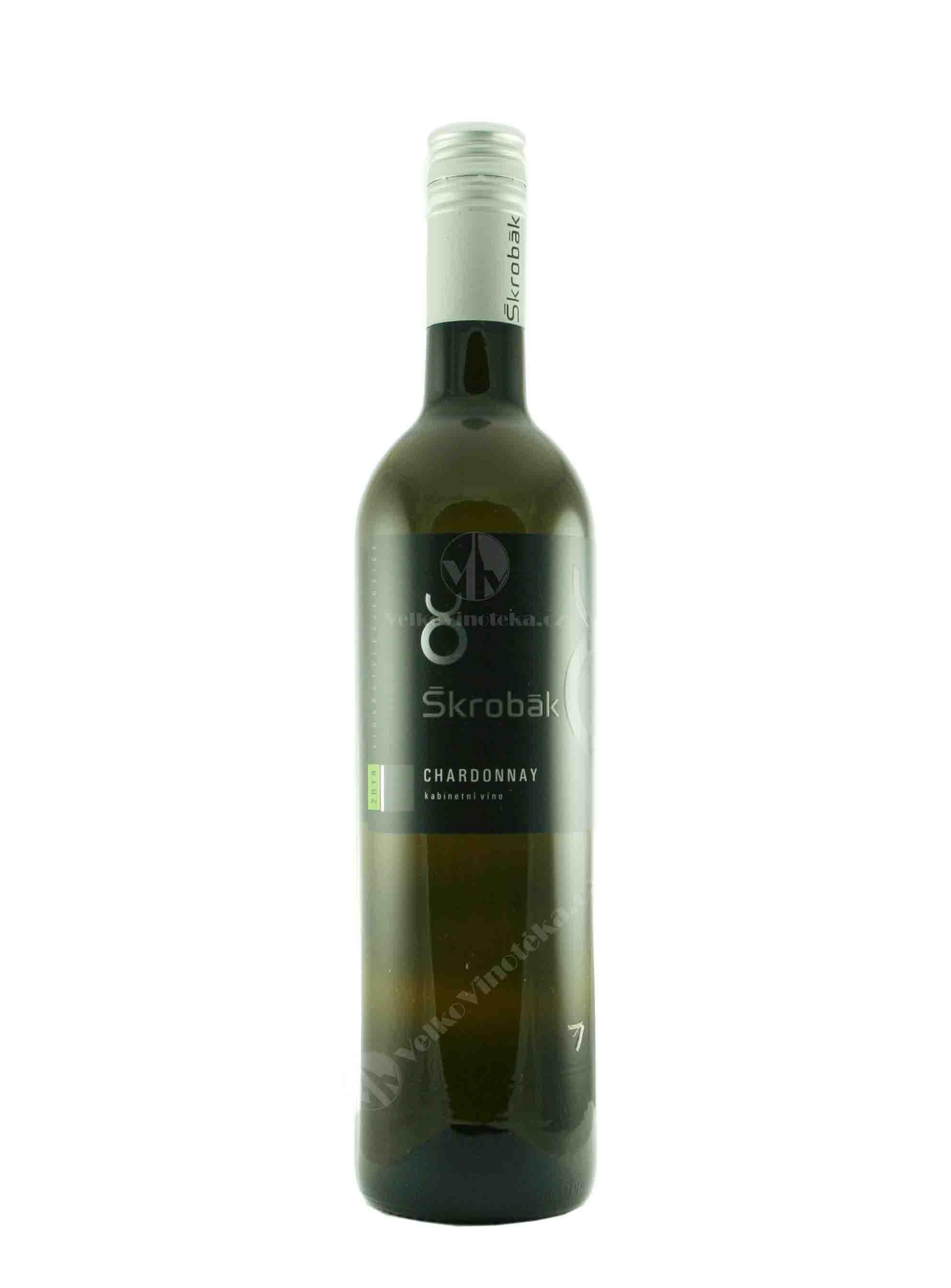 Chardonnay, Kabinet, 2014, Vinařství Škrobák, 0.75 l