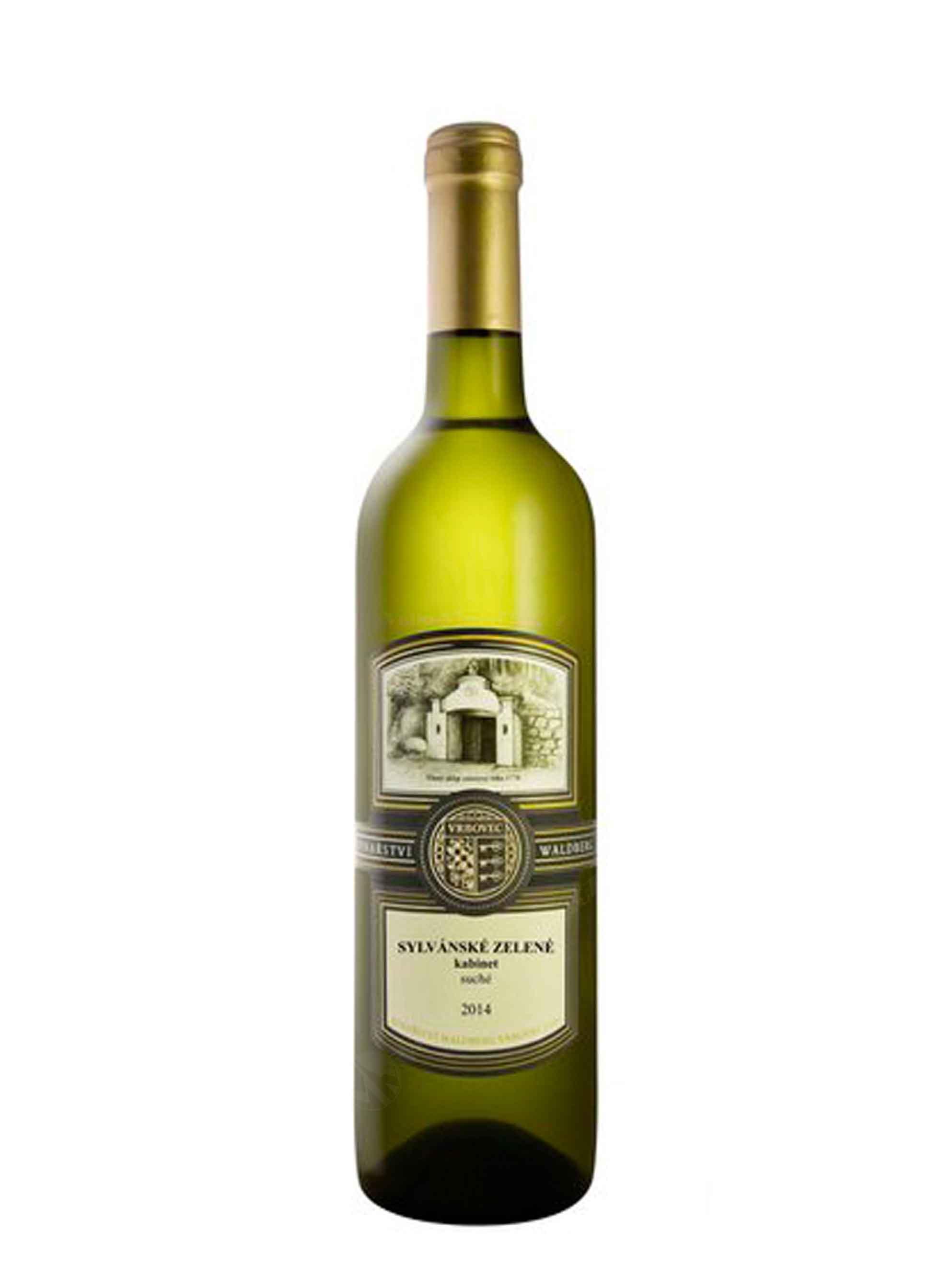 Sylvánské zelené, Terroir, Kabinet, 2014, Vinařství Waldberg, 0.75 l