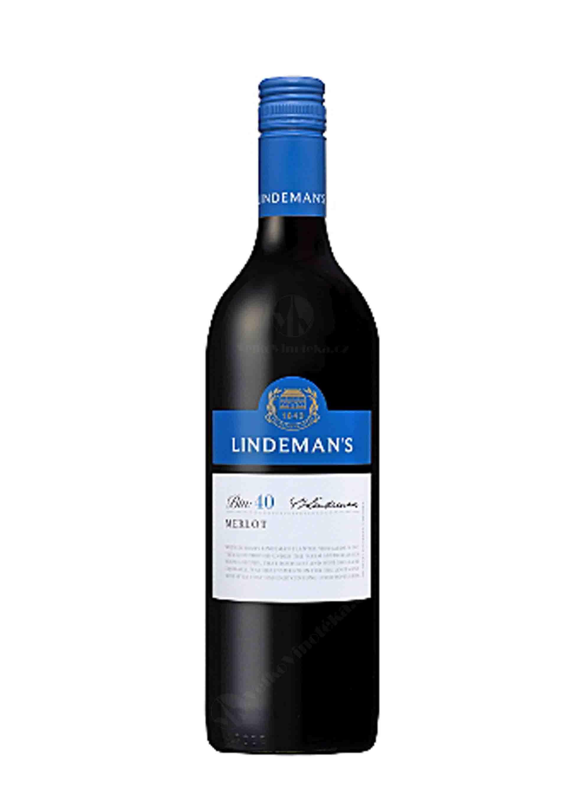 Merlot, Bin 40, 2015, Lindeman's, 0.75 l