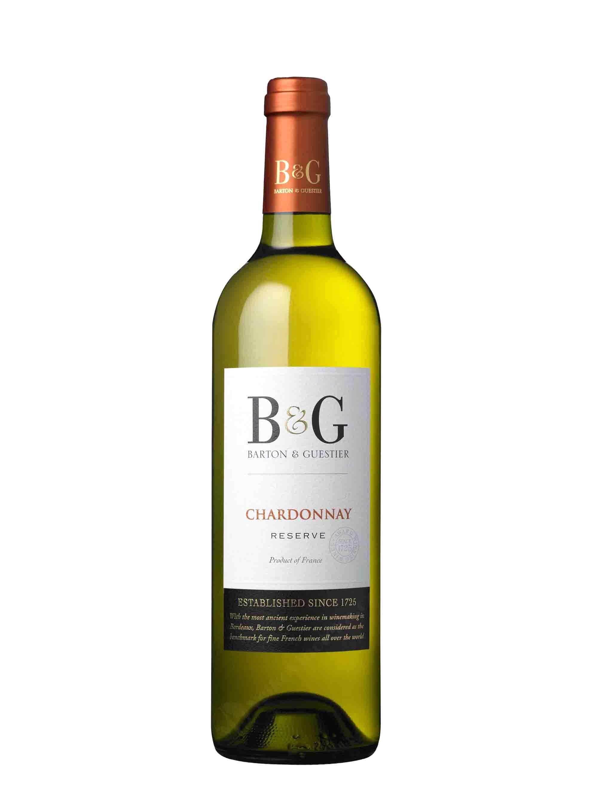 Chardonnay, IGP Réserve, 2016, Barton & Guestier, 0.75 l