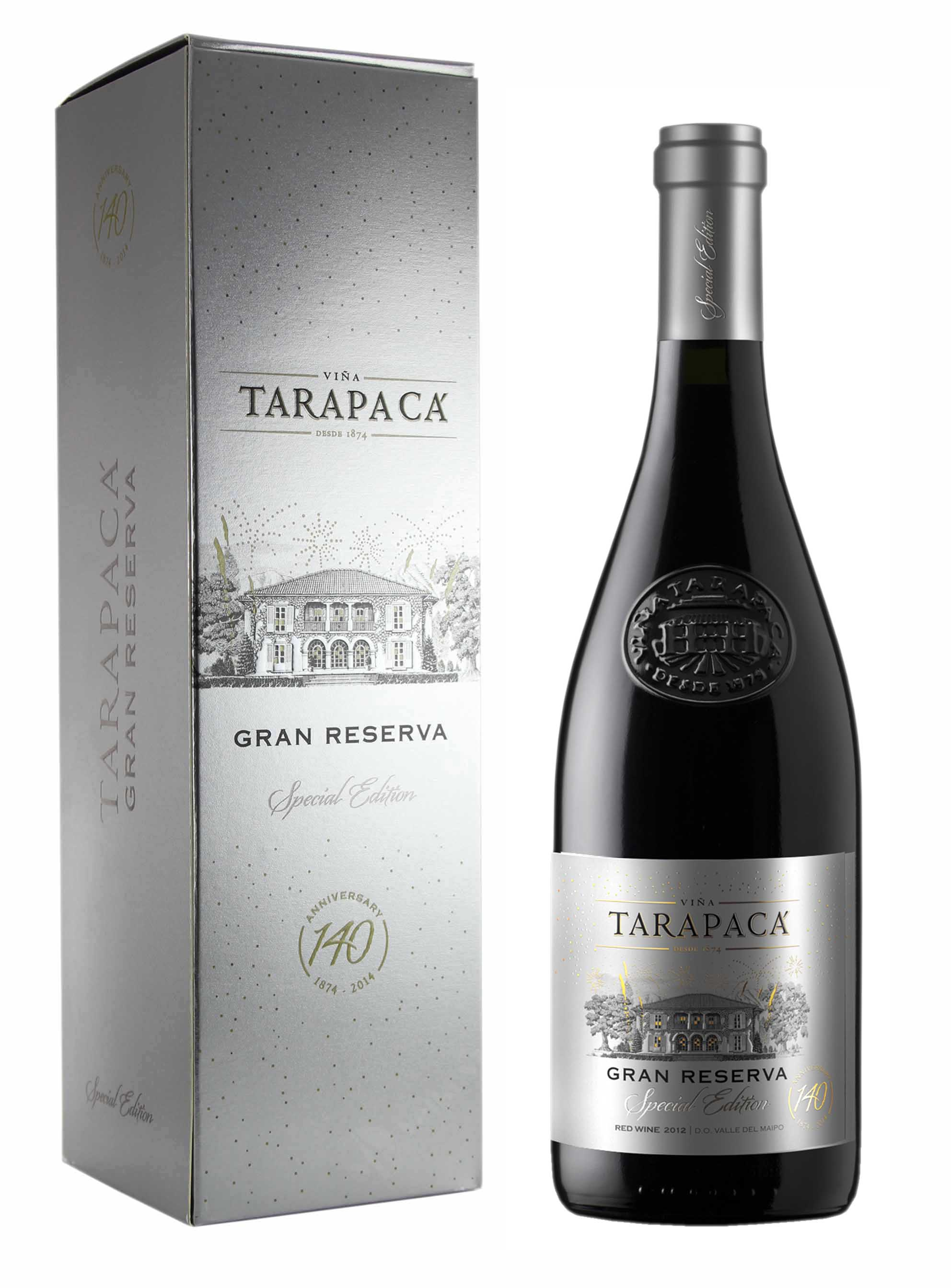 Cuvée, Anniversary Edition 140, DO Gran Reserva, 2012, Tarapacá, 0.75 l