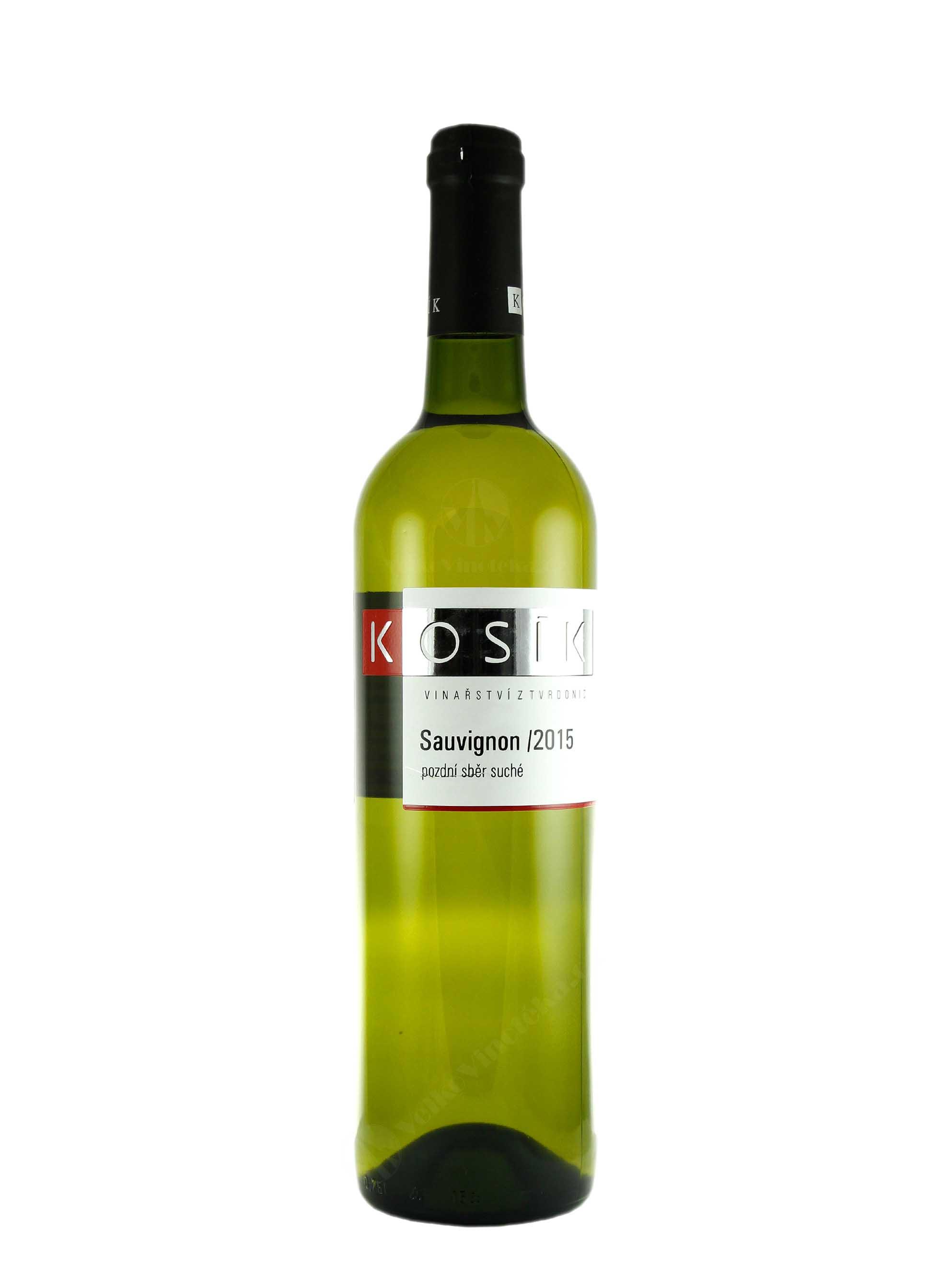 Sauvignon, Pozdní sběr, 2015, Vinařství Kosík, 0.75 l