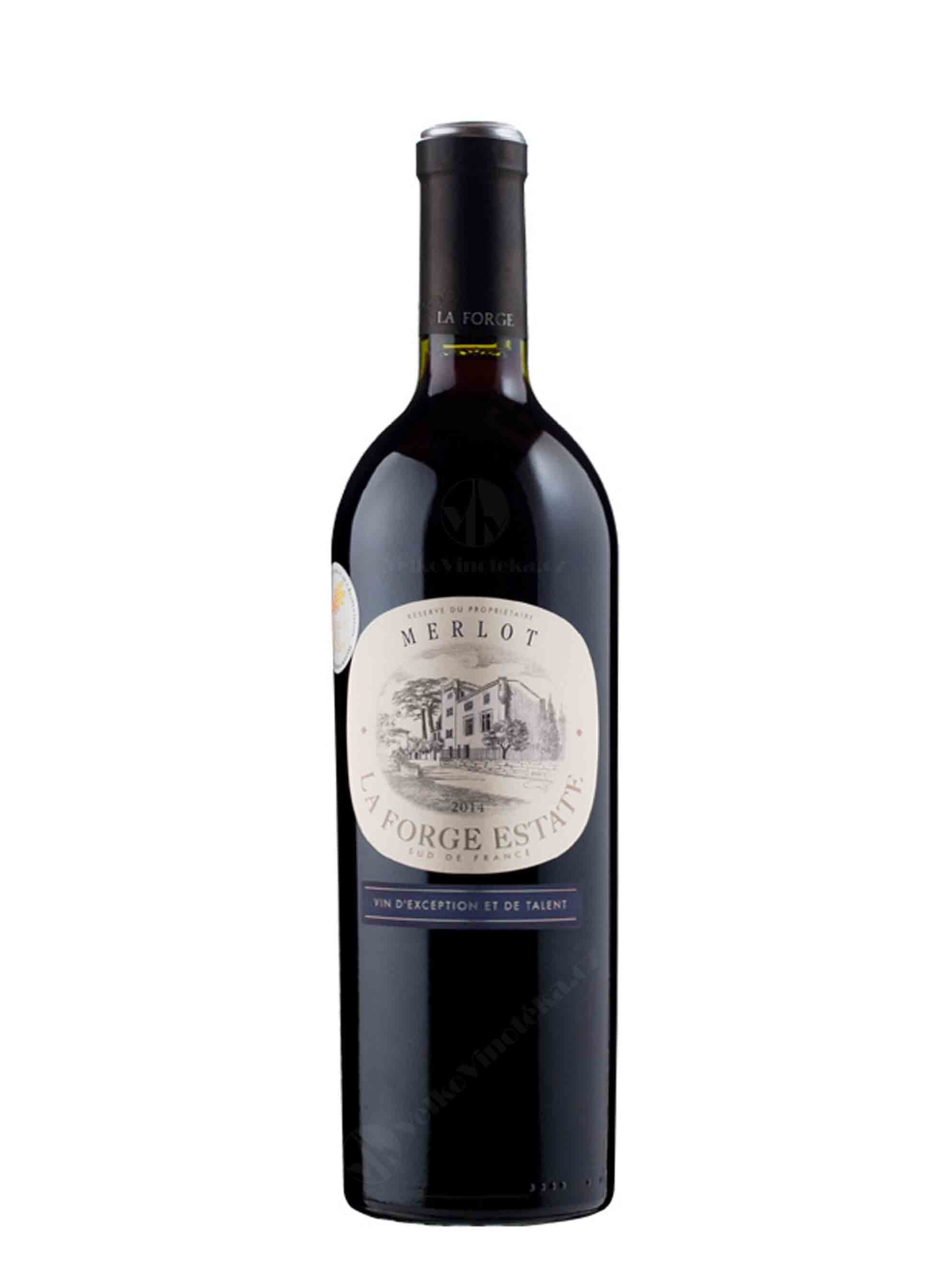 Merlot, La Forge Estate, IGP, 2015, Paul Mas, 0.75 l