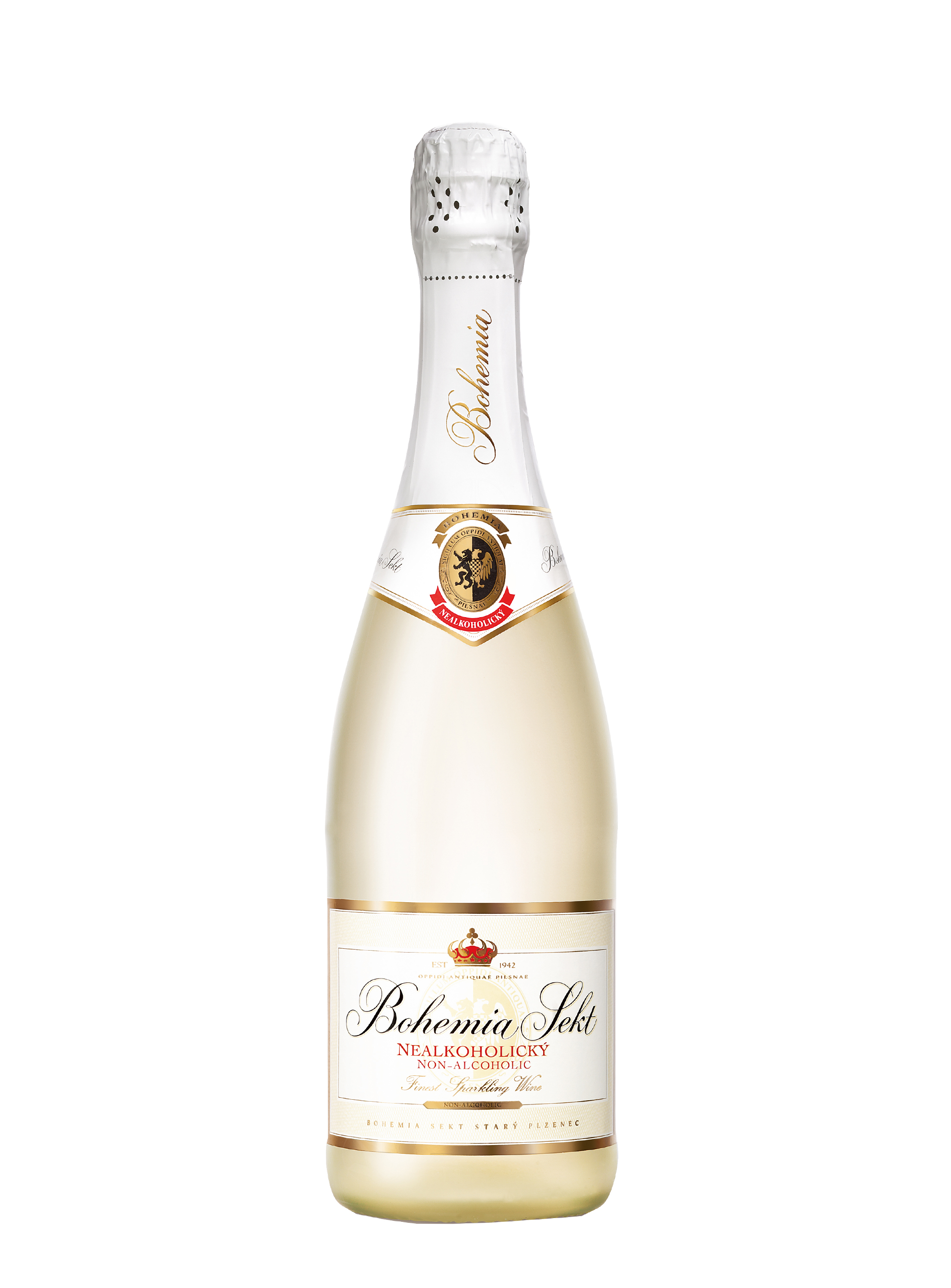Cuvée, Nealkoholické víno, Bohemia sekt, 0.75 l