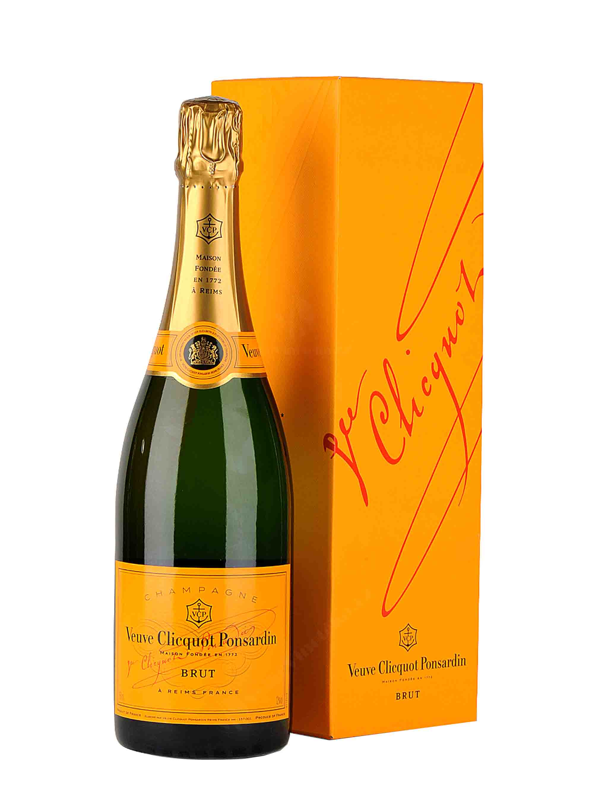 Cuvée, Yellow Label, Veuve Clicquot, 0.75 l