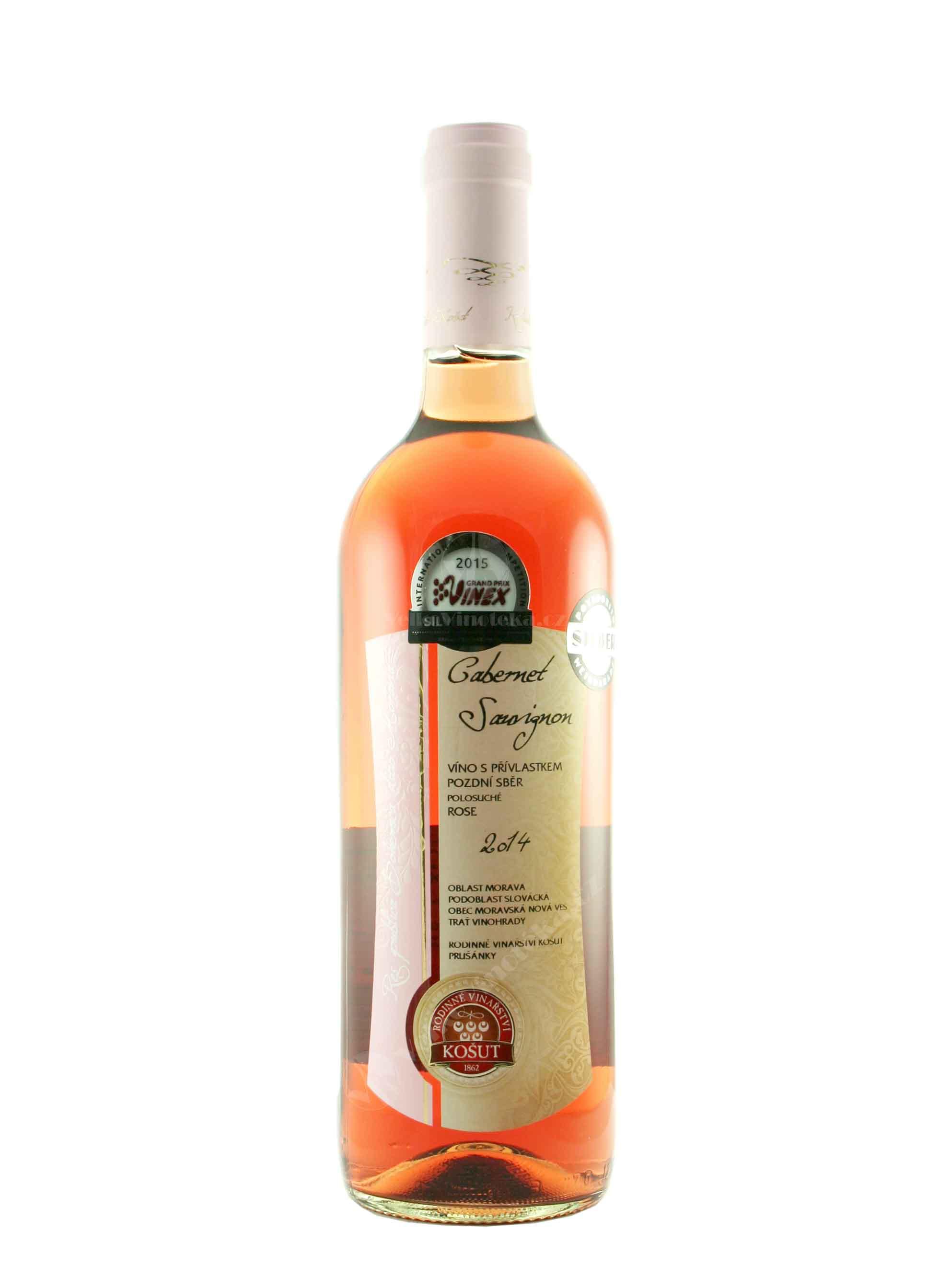 Cabernet Sauvignon, Res Publica, Pozdní sběr, 2014, Vinařství Košut, 0.75 l