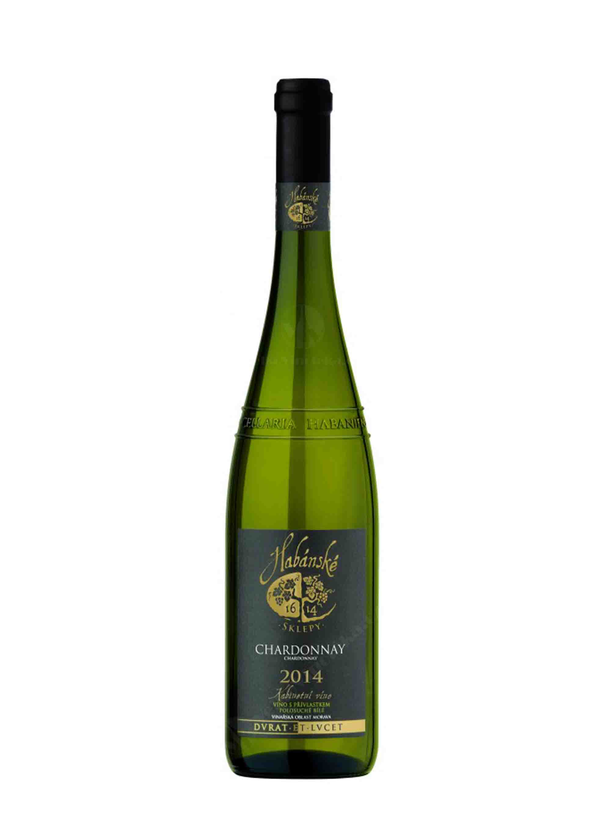 Chardonnay, Kabinet, 2014, Habánské sklepy, 0.75 l