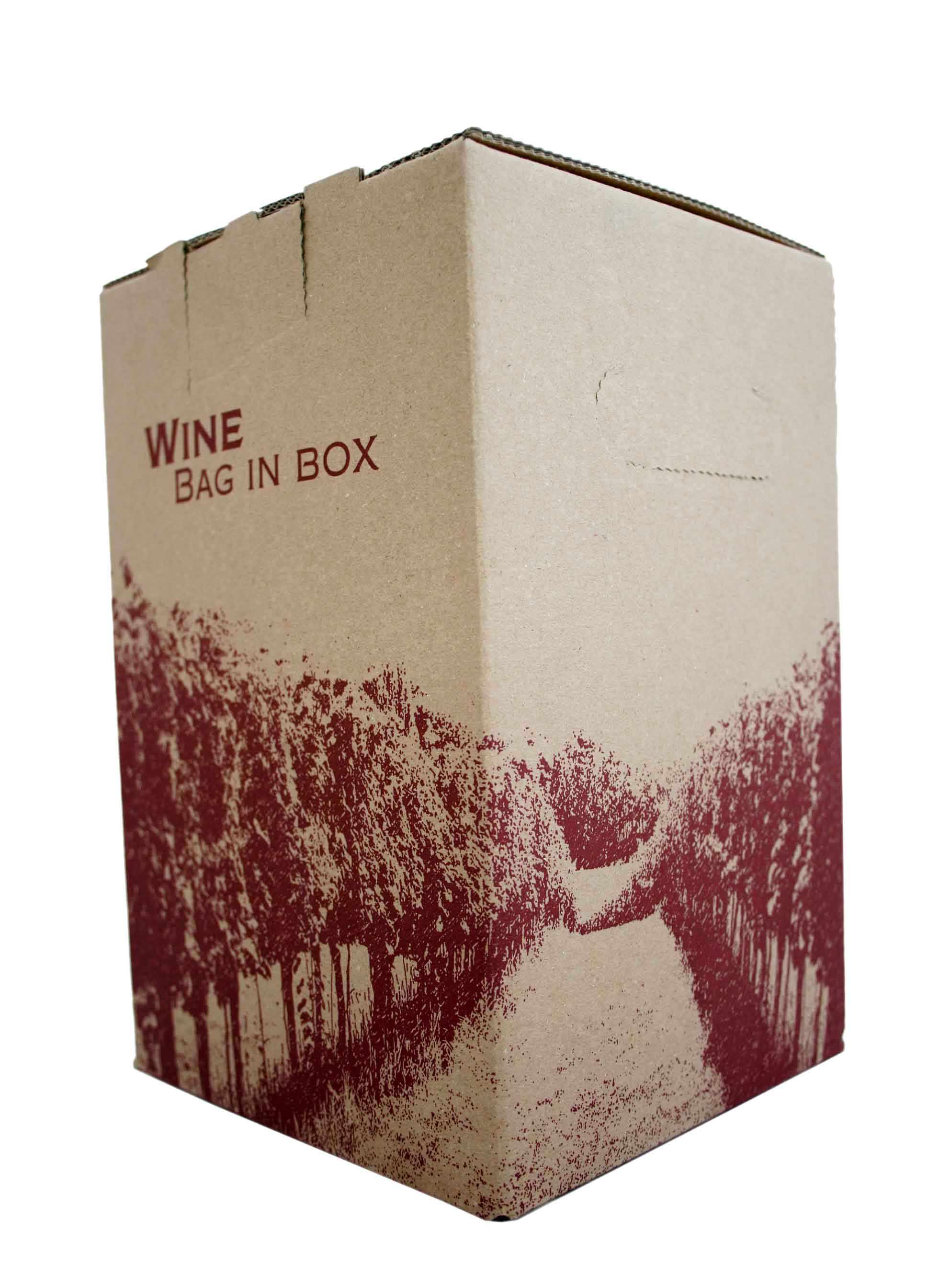 Merlot, Bag in Box, Vinařství pod Hradem, 5 l