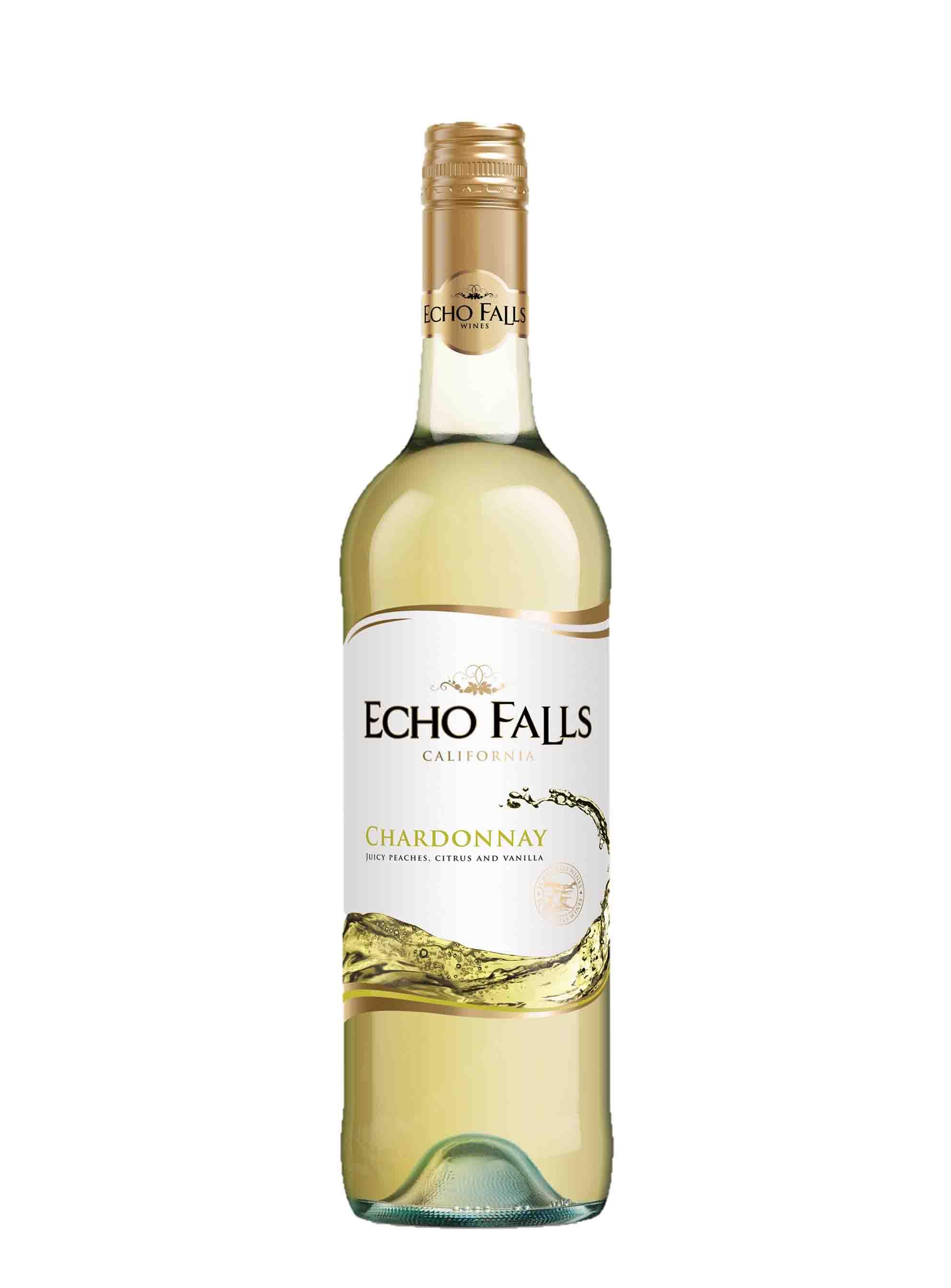 Chardonnay, Echo Falls, 2014, Mission Bell Winery, 0.75 l
