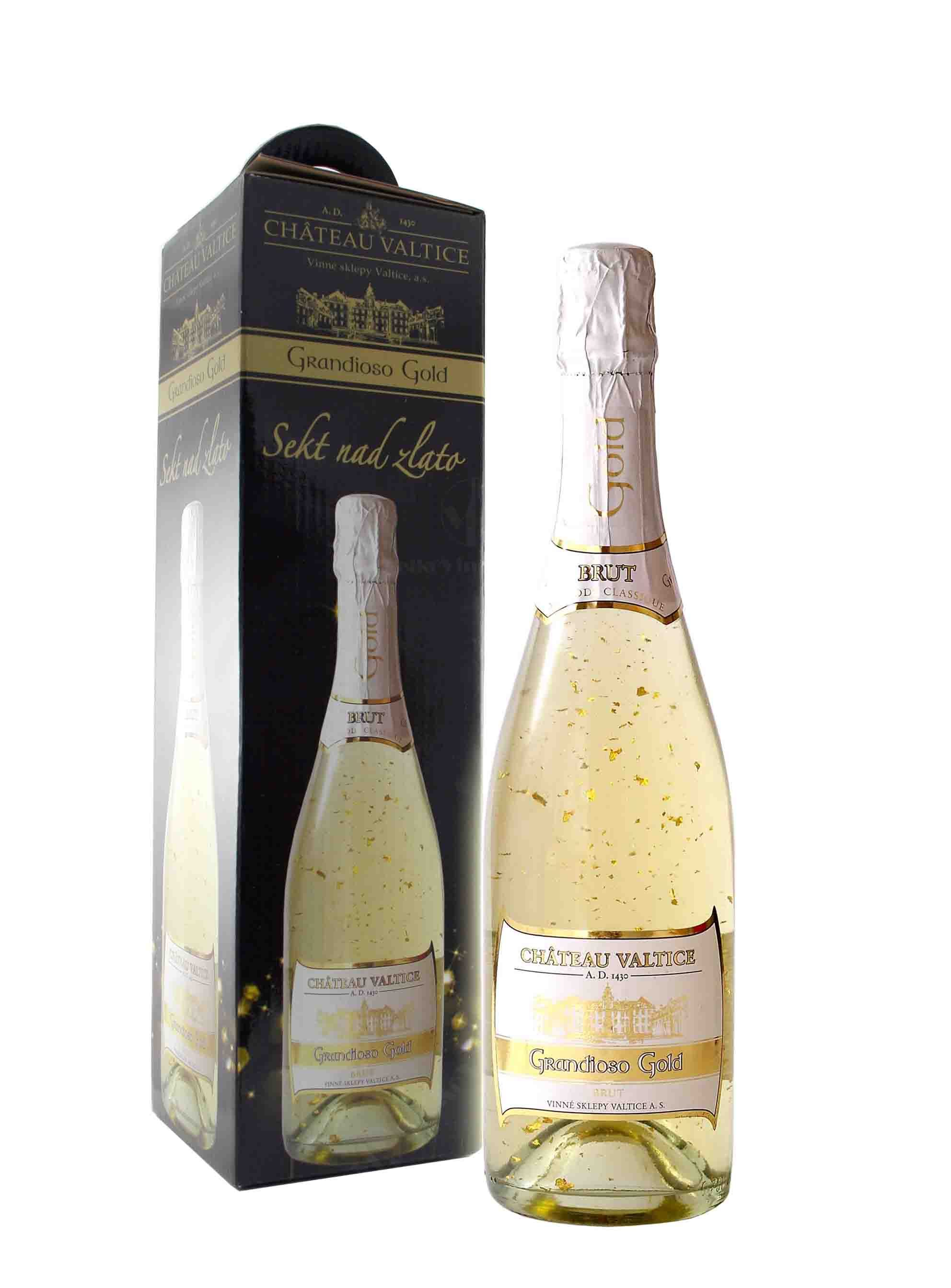 Sekt, Grandioso Gold, Château Valtice, 0.75 l