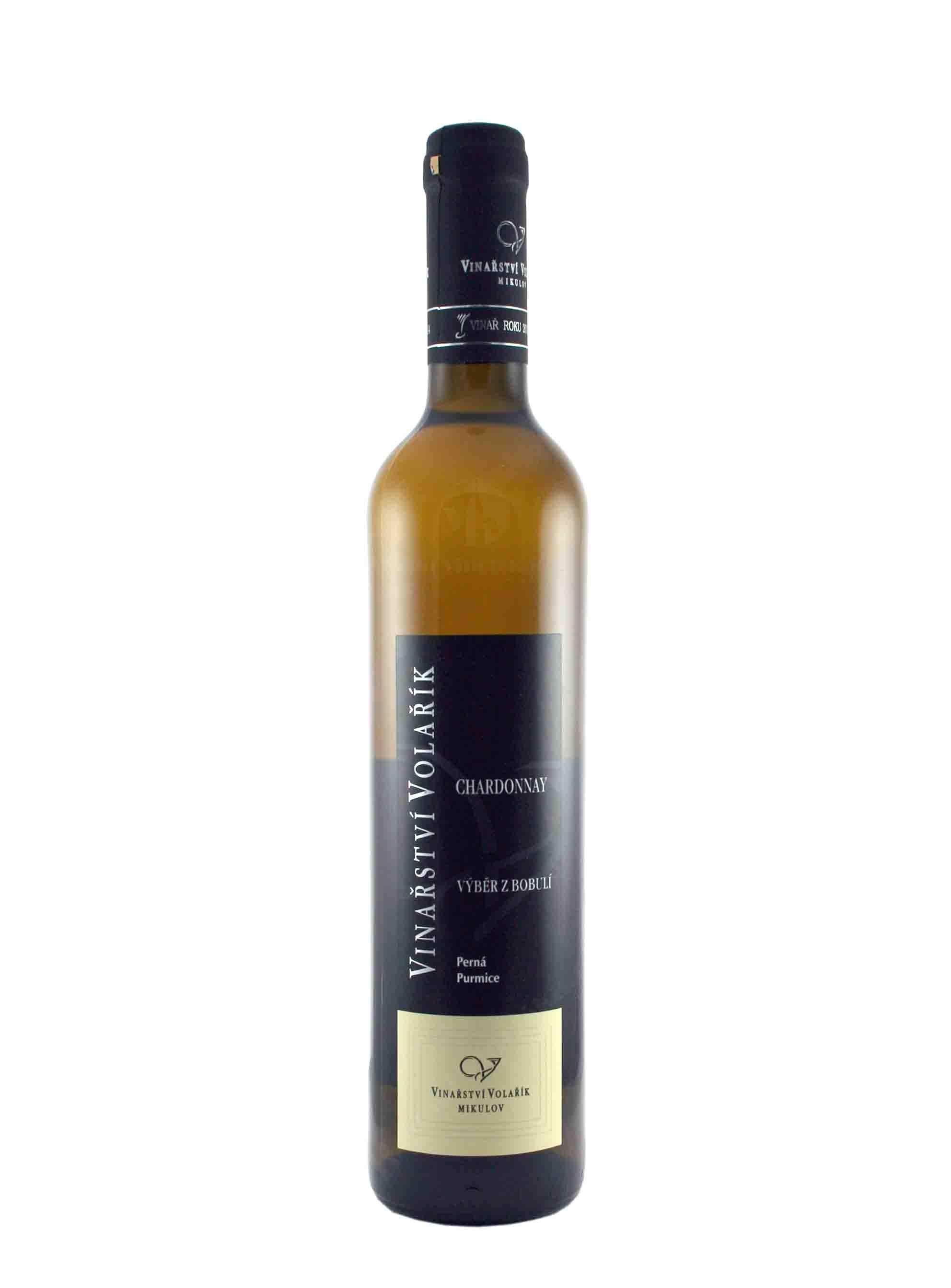 Chardonnay, Výběr z bobulí, 2014, Vinařství Volařík, 0.5 l