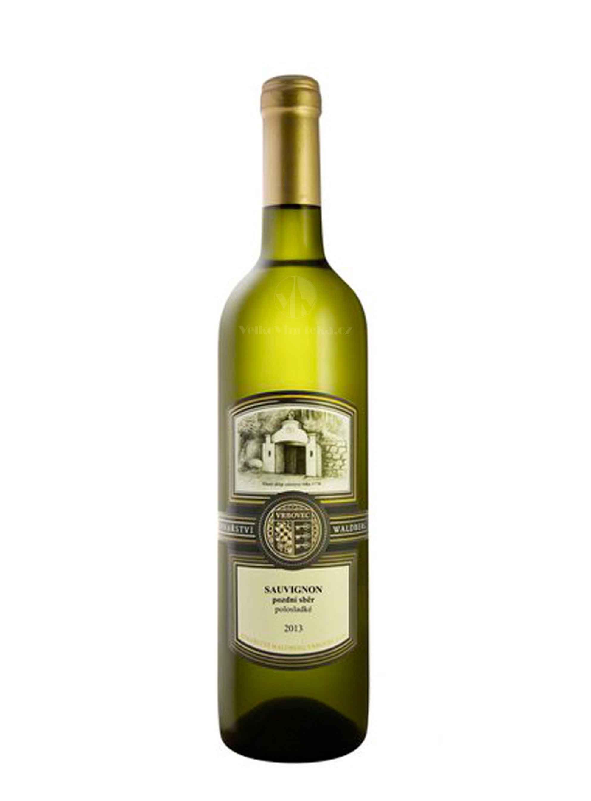 Sauvignon, Terroir, Pozdní sběr, 2013, Vinařství Waldberg, 0.75 l