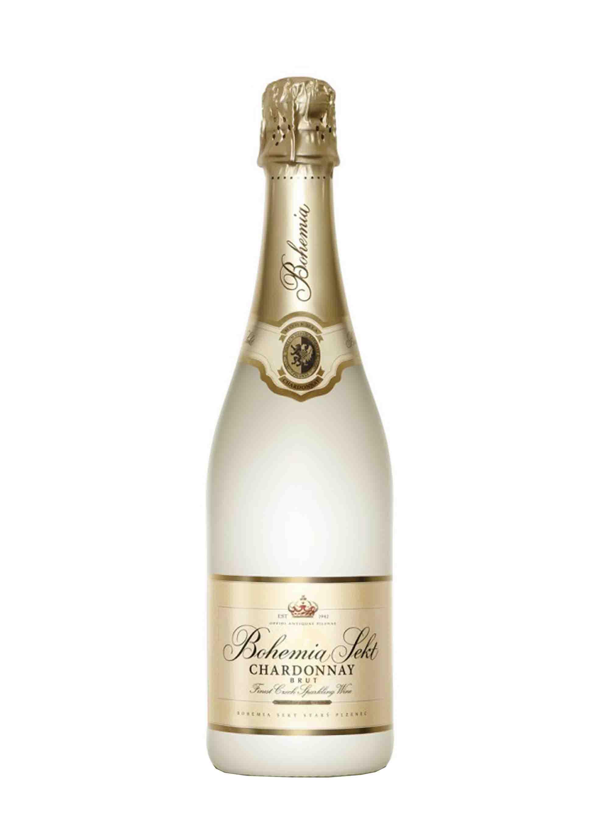 Chardonnay, Jakostní šumivé, Bohemia sekt, 0.75 l