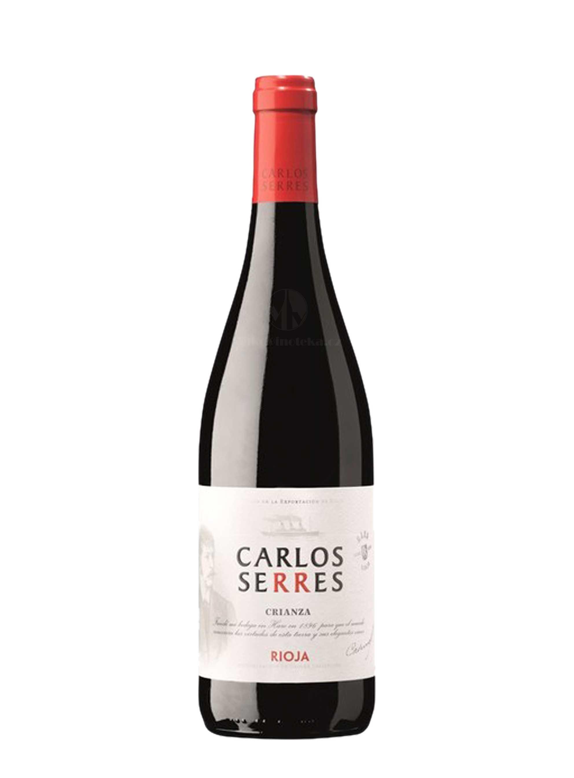 Cuvée, DOCa Crianza, 2014, Carlos Serres, 0.75 l