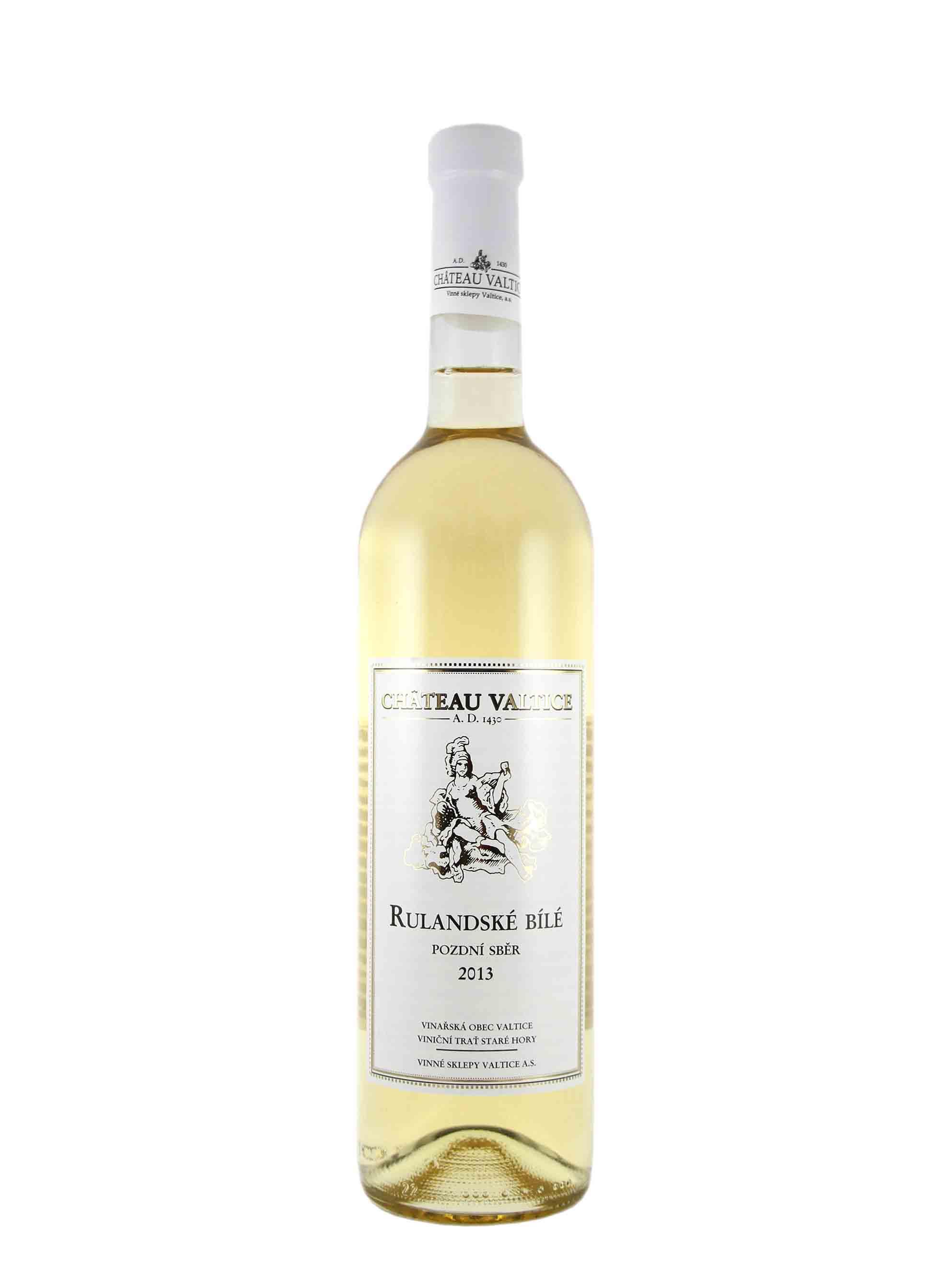 Rulandské bílé, Pozdní sběr, 2013, Château Valtice, 0.75 l