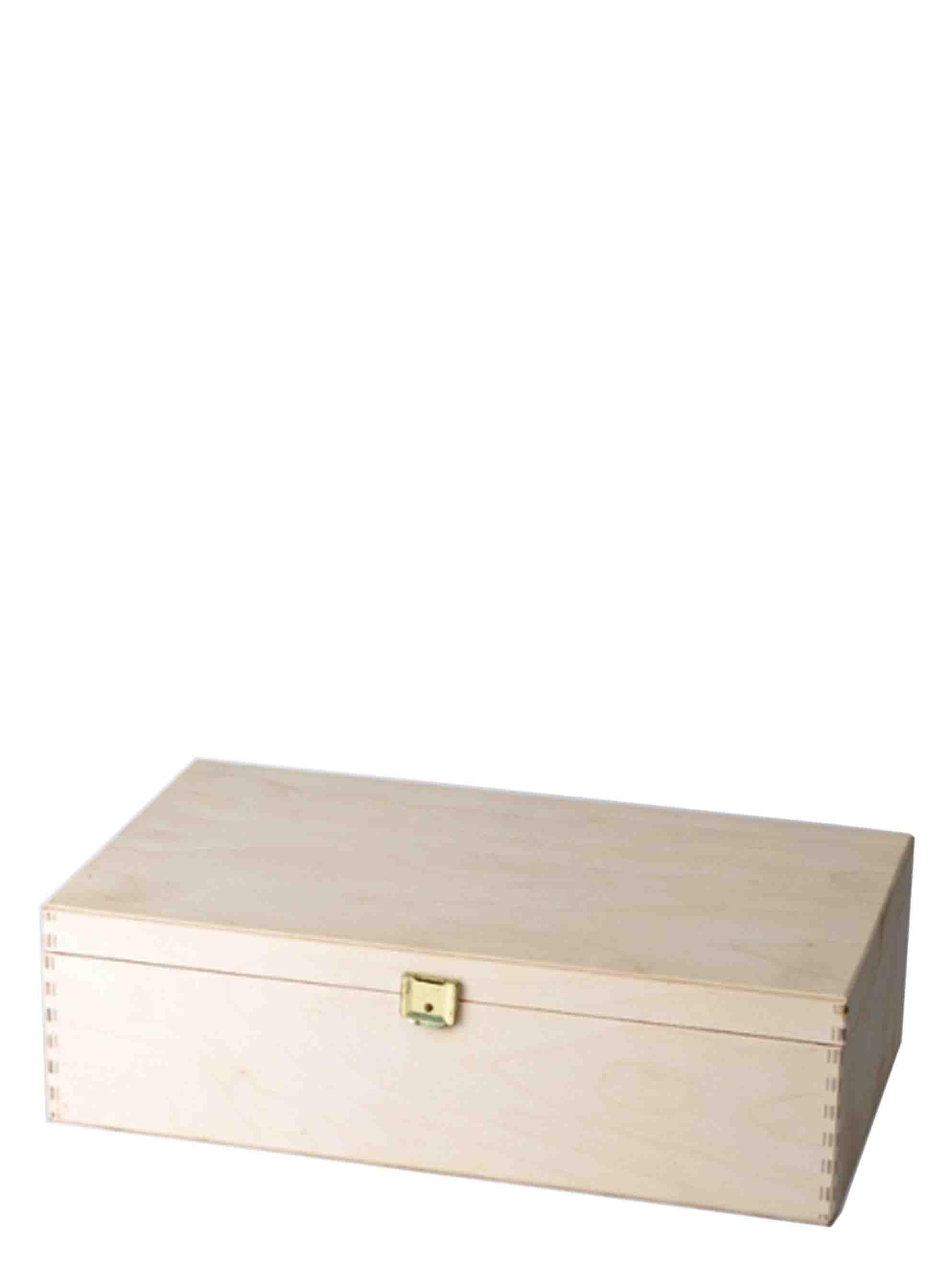 Dřevěná krabice s panty na 2 láhve 190x80x360 - 1ks
