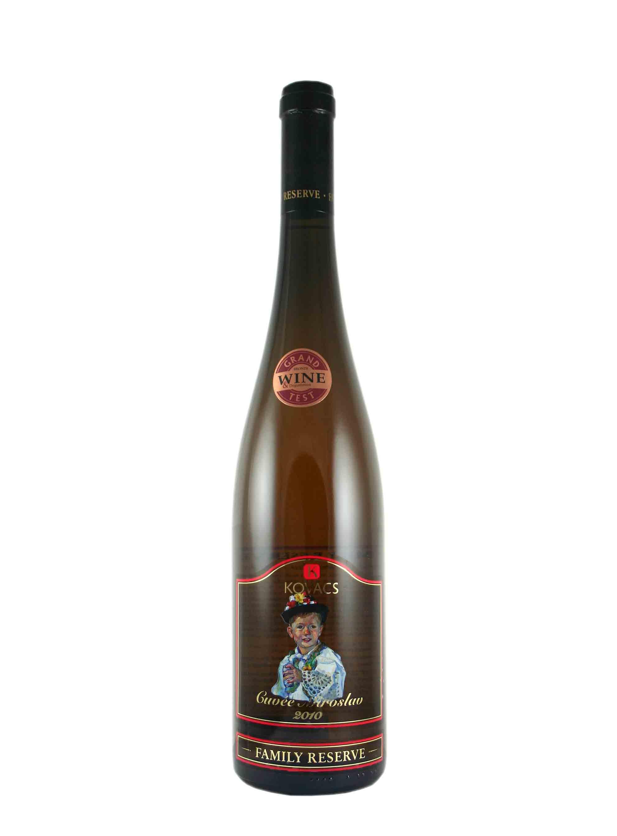 Cuvée, Family reserve, Pozdní sběr, 2010, Vinařství Kovacs, 0.75 l