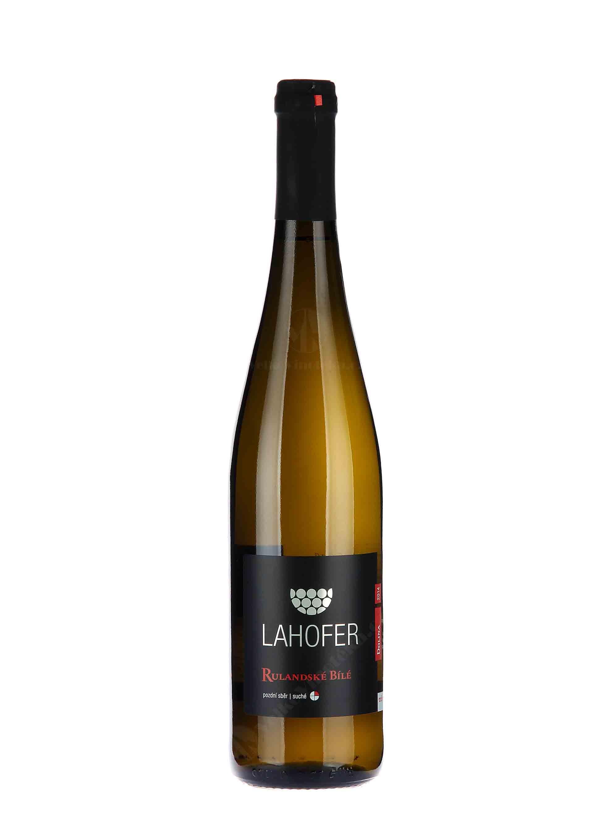 Rulandské bílé, Pozdní sběr, 2015, Vinařství Lahofer, 0.75 l