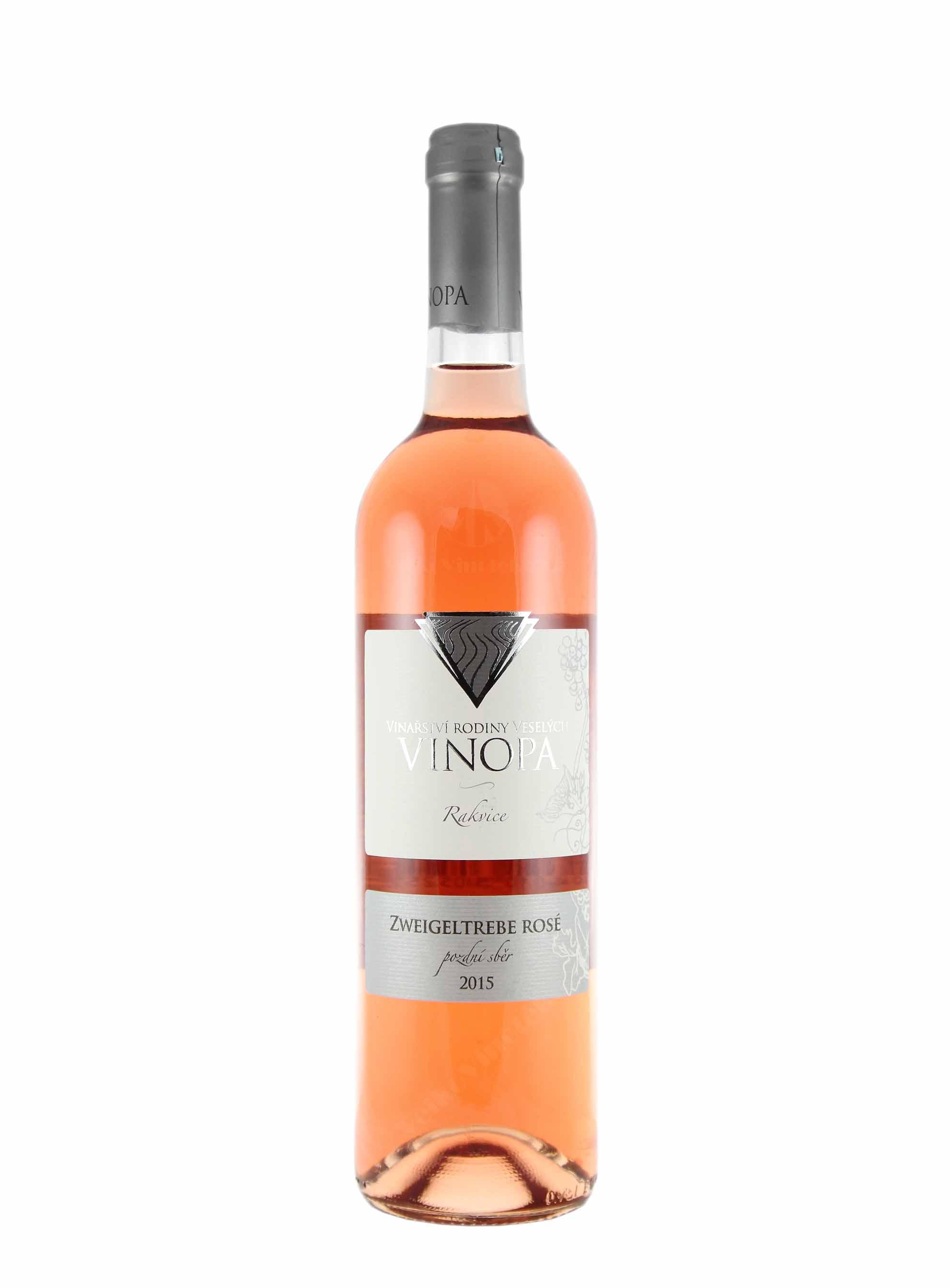 Zweigeltrebe, Pozdní sběr, 2015, Vinařství Vinopa, 0.75 l
