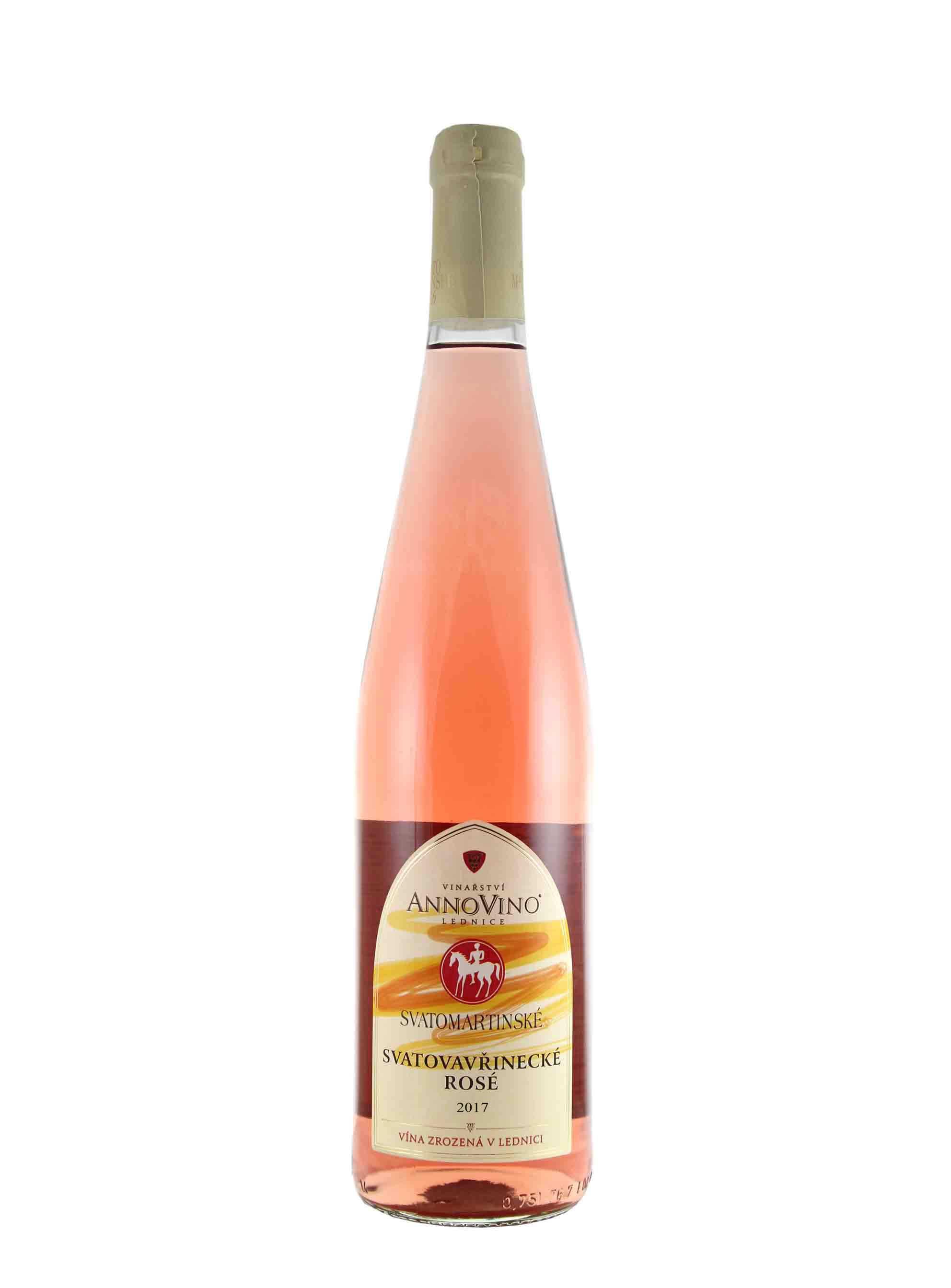 Svatovavřinecké rosé, Svatomartinské, Zemské, 2017, Château Lednice, 0.75 l