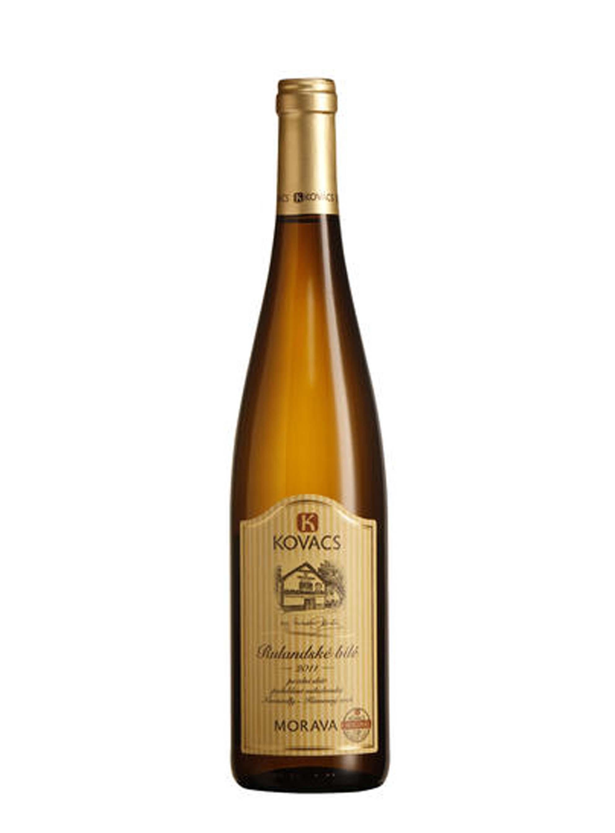 Rulandské bílé, Pozdní sběr, 2011, Vinařství Kovacs, 0.75 l