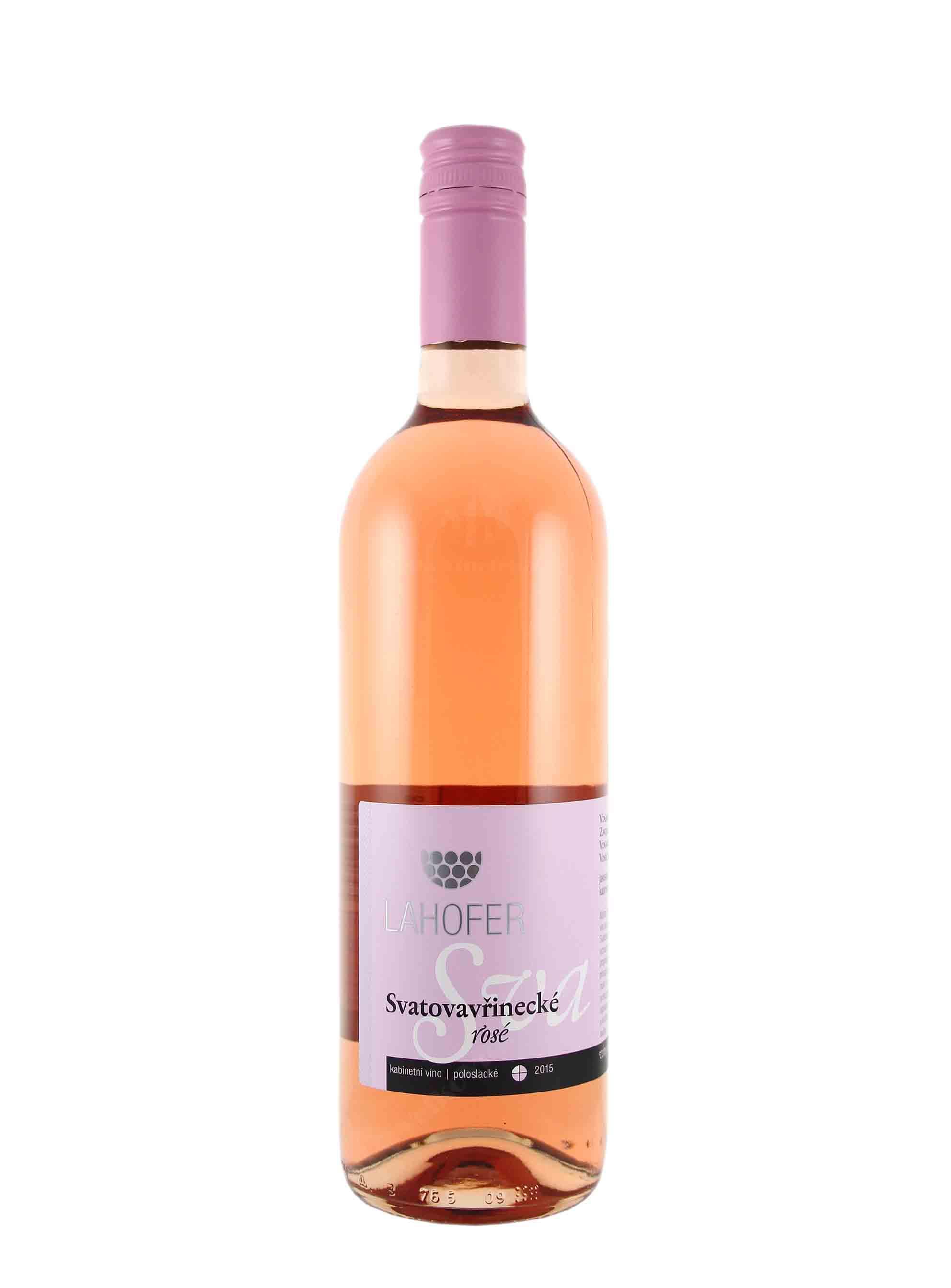 Svatovavřinecké, Kabinet, 2015, Vinařství Lahofer, 0.75 l