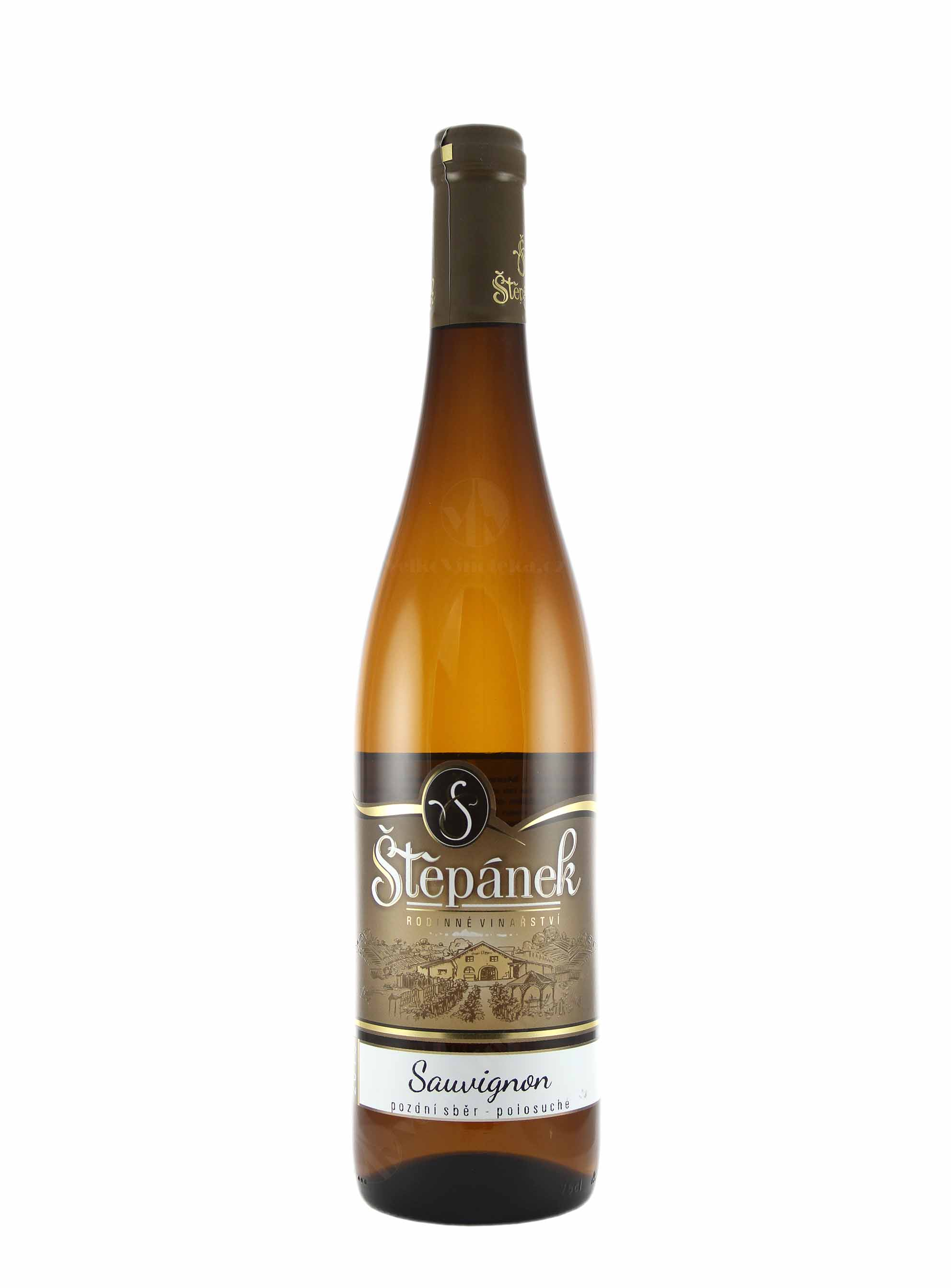 Sauvignon, Pozdní sběr, 2015, Vinařství Štěpánek, 0.75 l