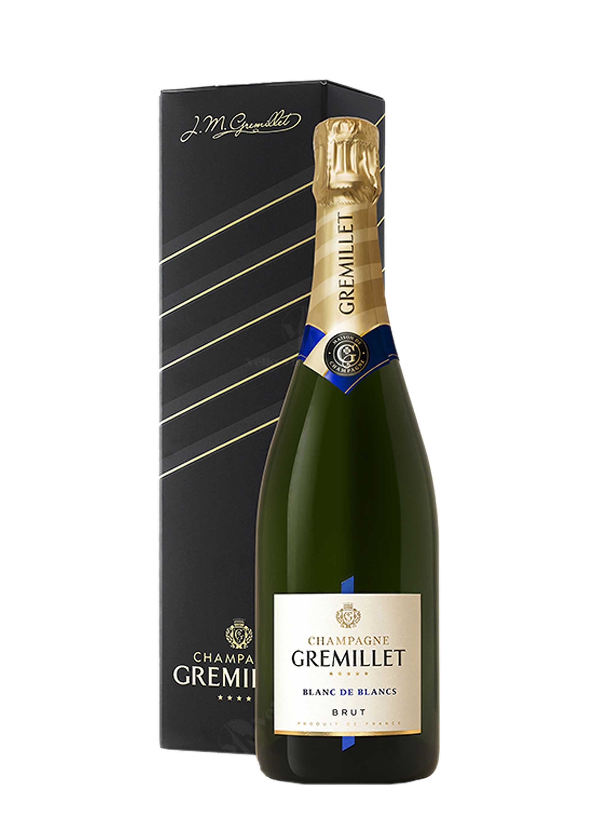 Champagne, Blanc de Blancs, Brut, Gremillet, 0.75 l + krabička