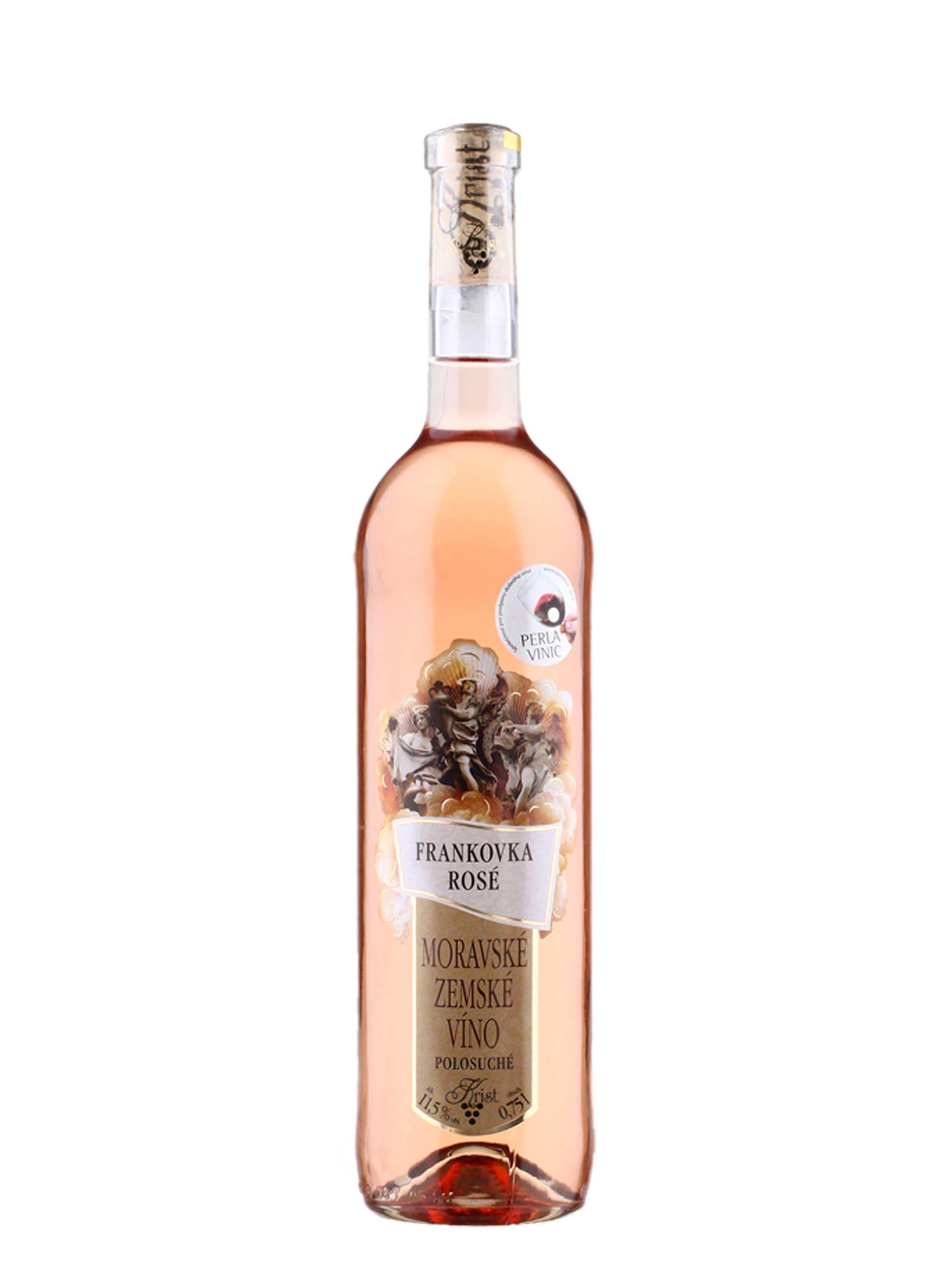 Frankovka rosé, Zemské, Vinařství Krist Milotice, 0.75 l