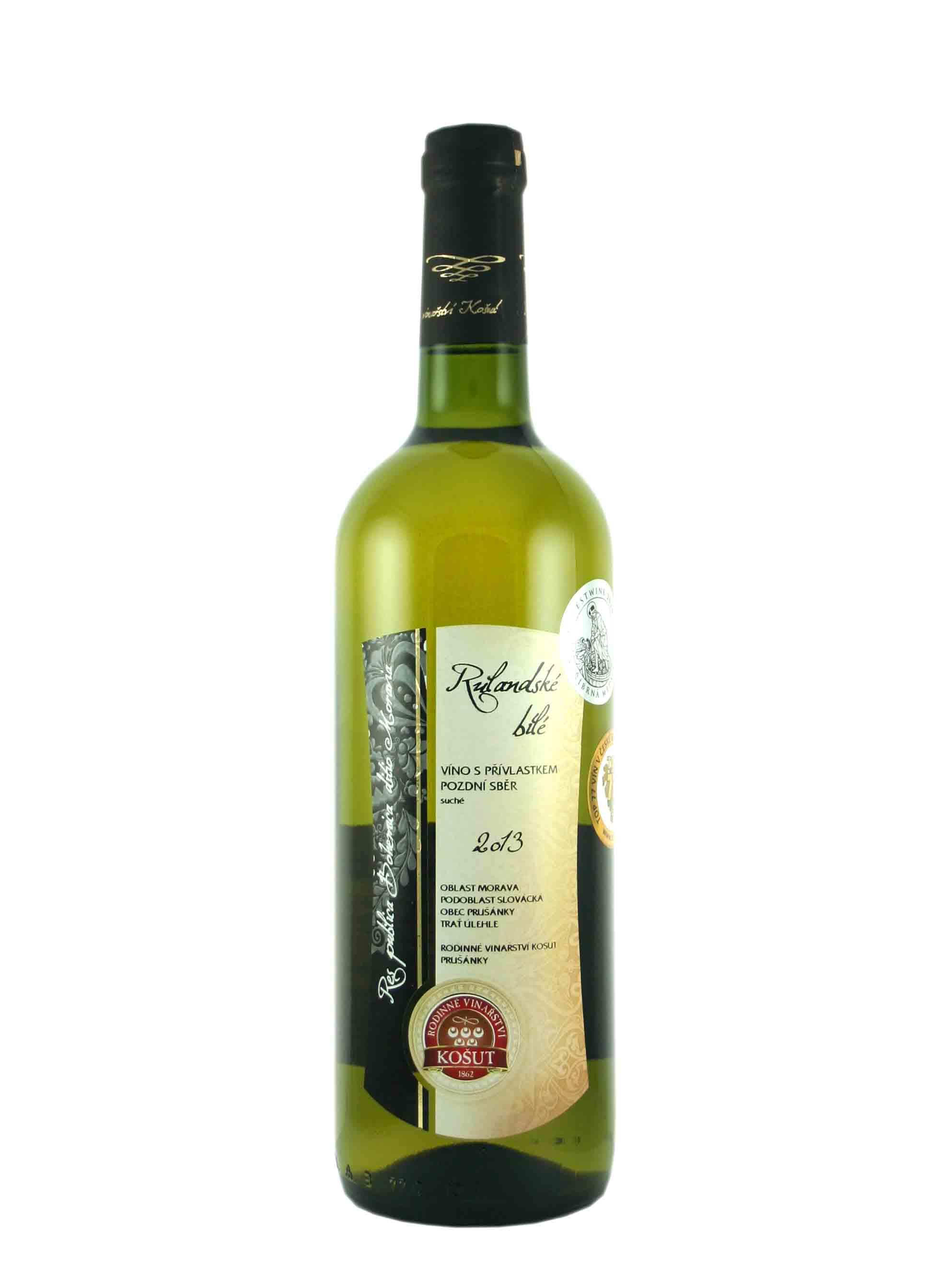 Rulandské bílé, Res Publica, Pozdní sběr, 2013, Vinařství Košut, 0.75 l