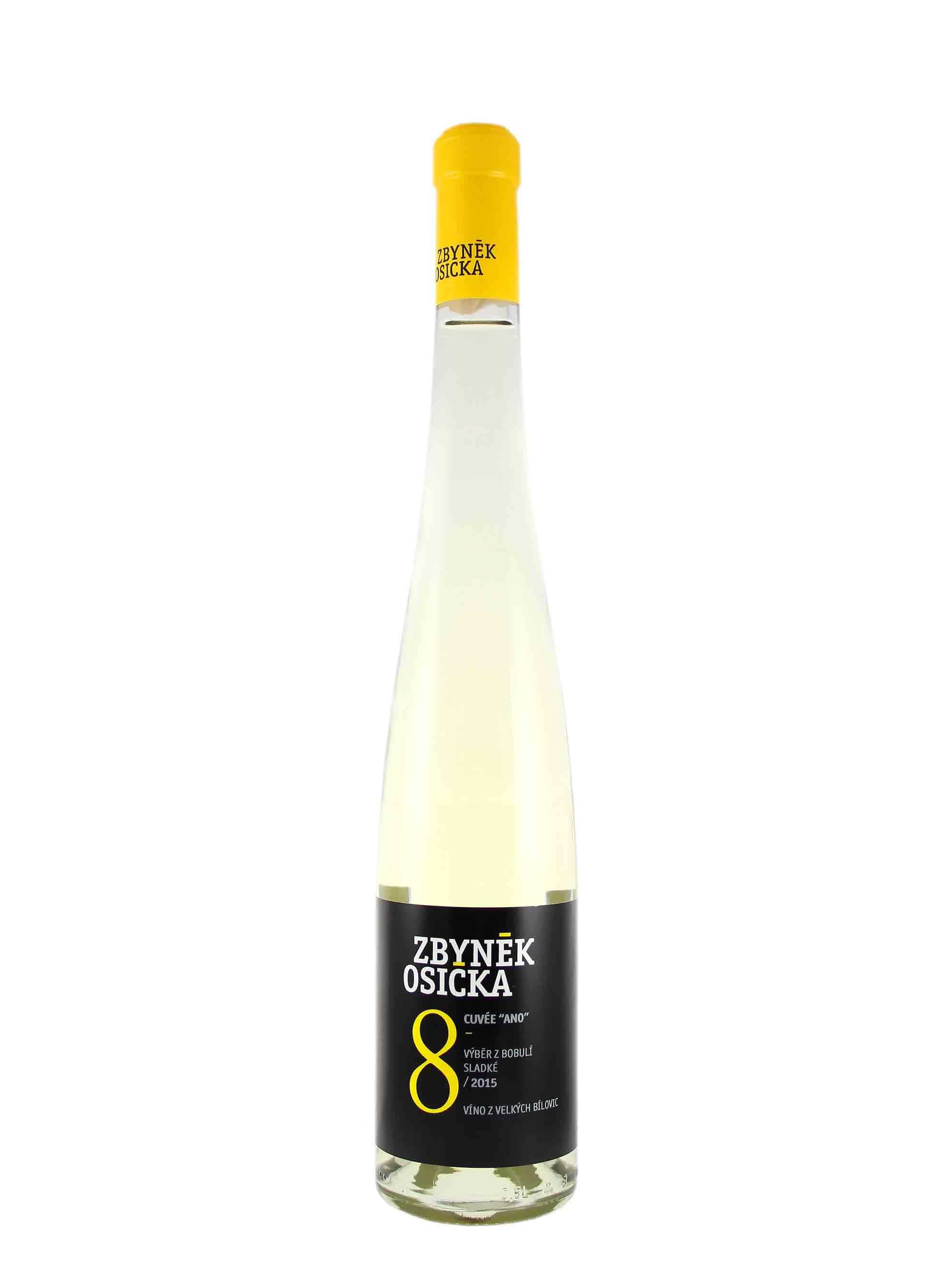 """Cuvée """"Ano"""", Výběr z bobulí, 2016, Zbyněk Osička, 0.5 l"""