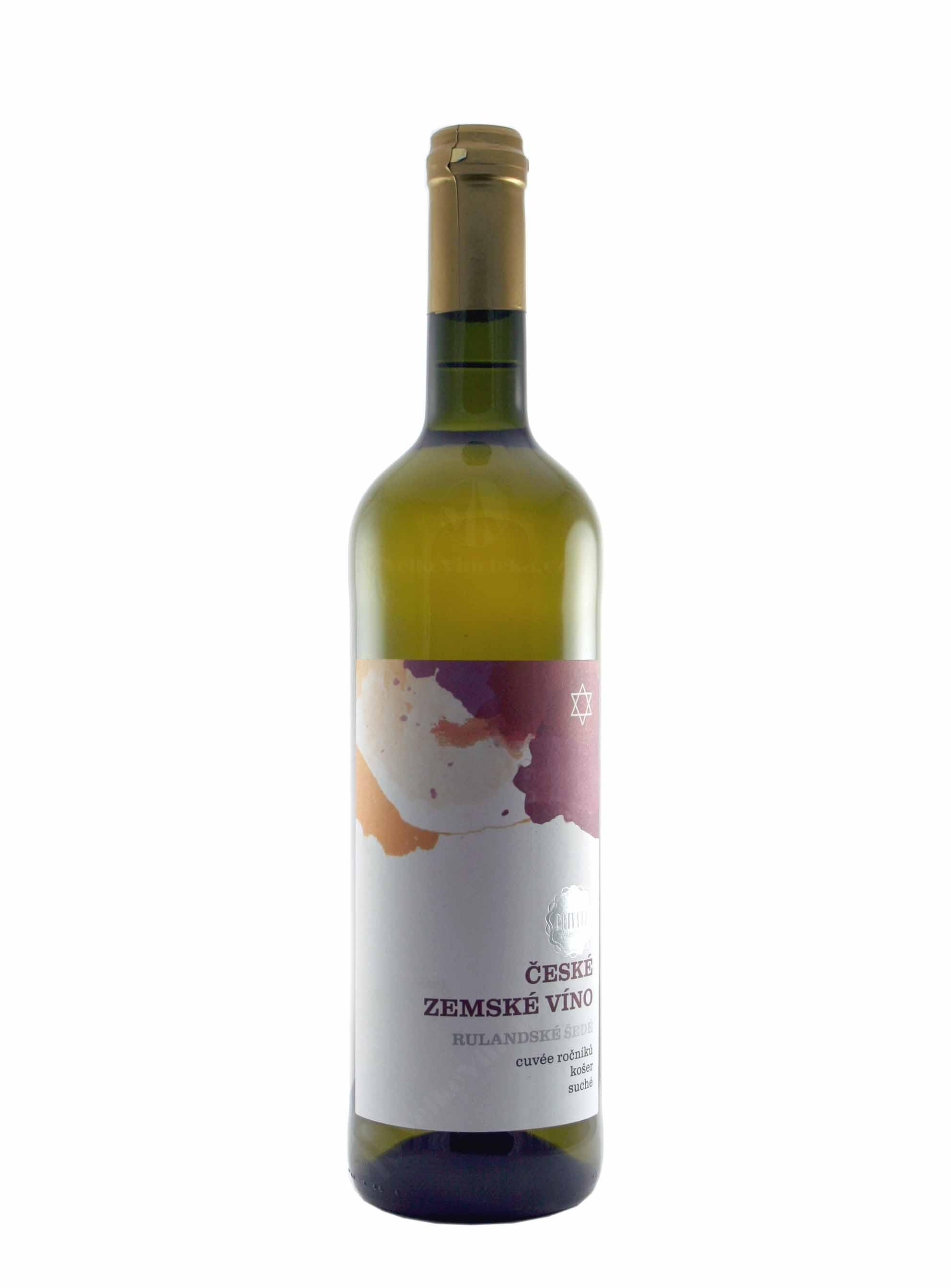 Cuvée, Košer, Zemské, České vinařství Chrámce, 0.75 l