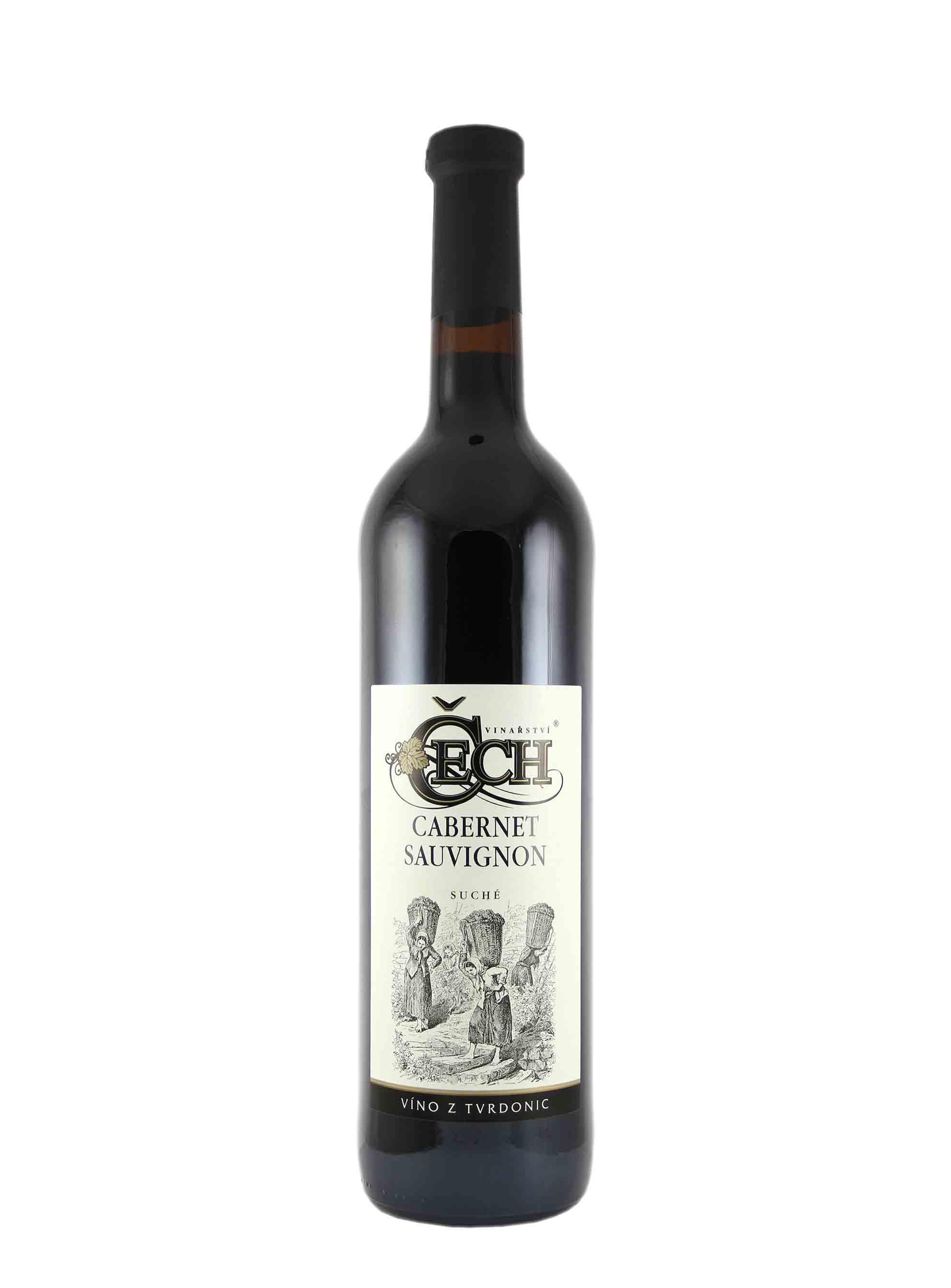 Cabernet Sauvignon, Zemské, Vinařství Čech, 0.75 l