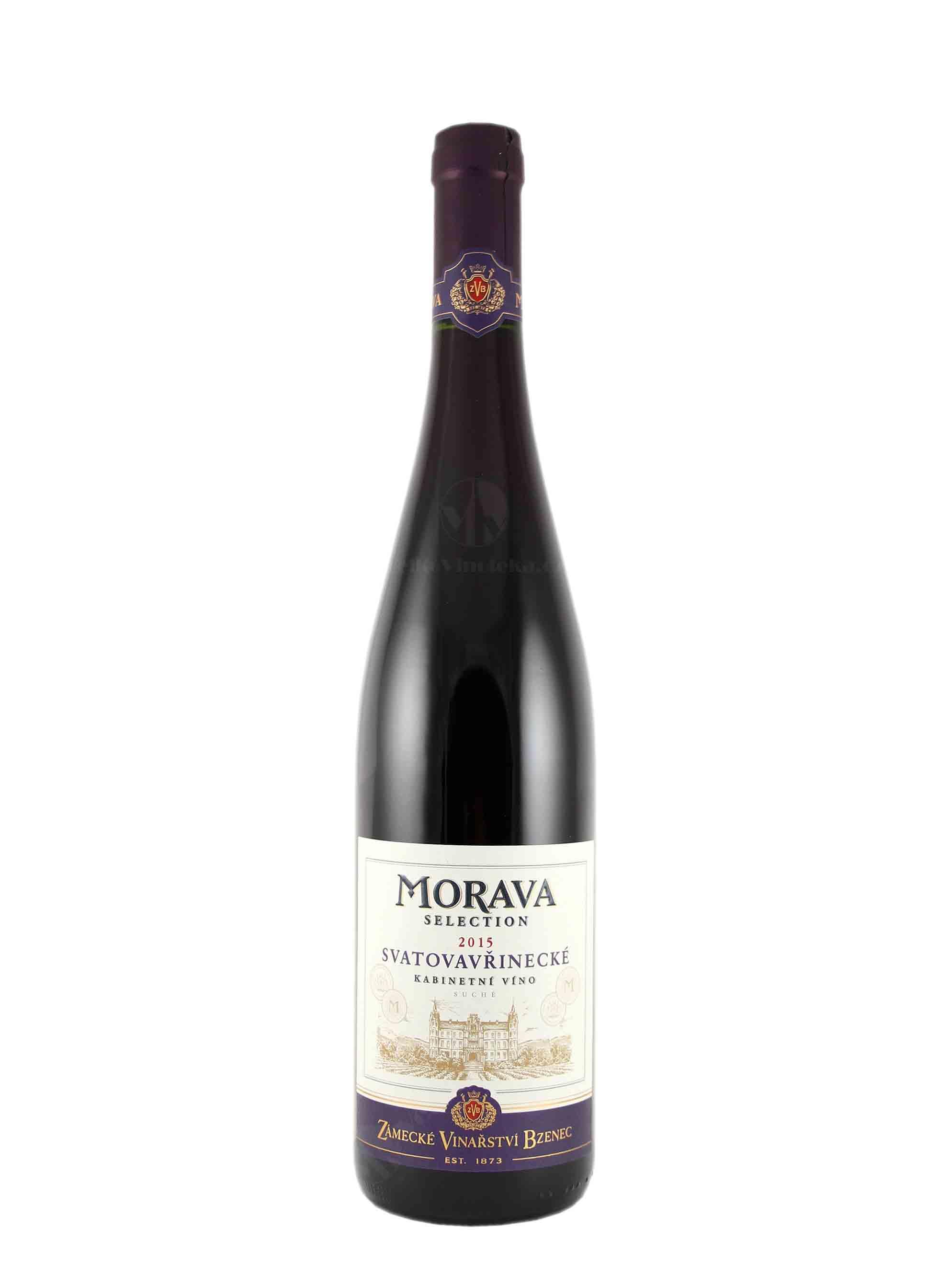 Svatovavřinecké, Kabinet, 2015, Zámecké vinařství Bzenec, 0.75 l