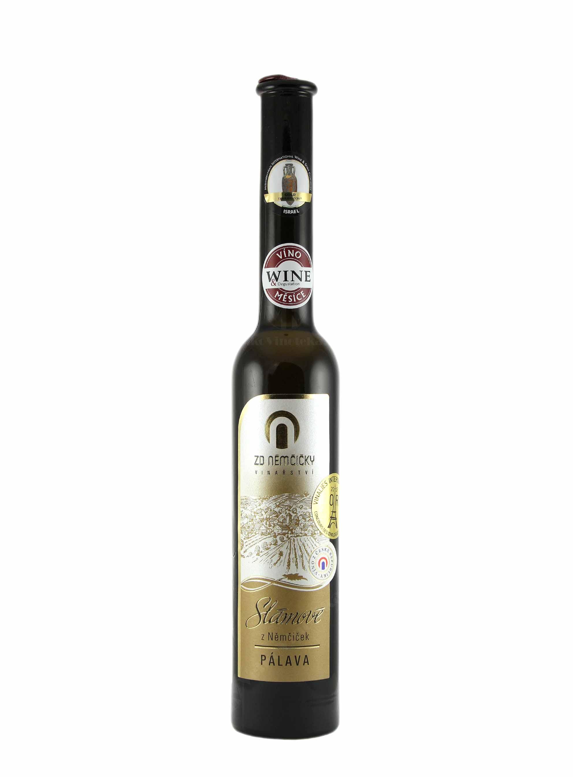 Pálava, Slámové víno, 2015, ZD Němčičky, 0.2 l