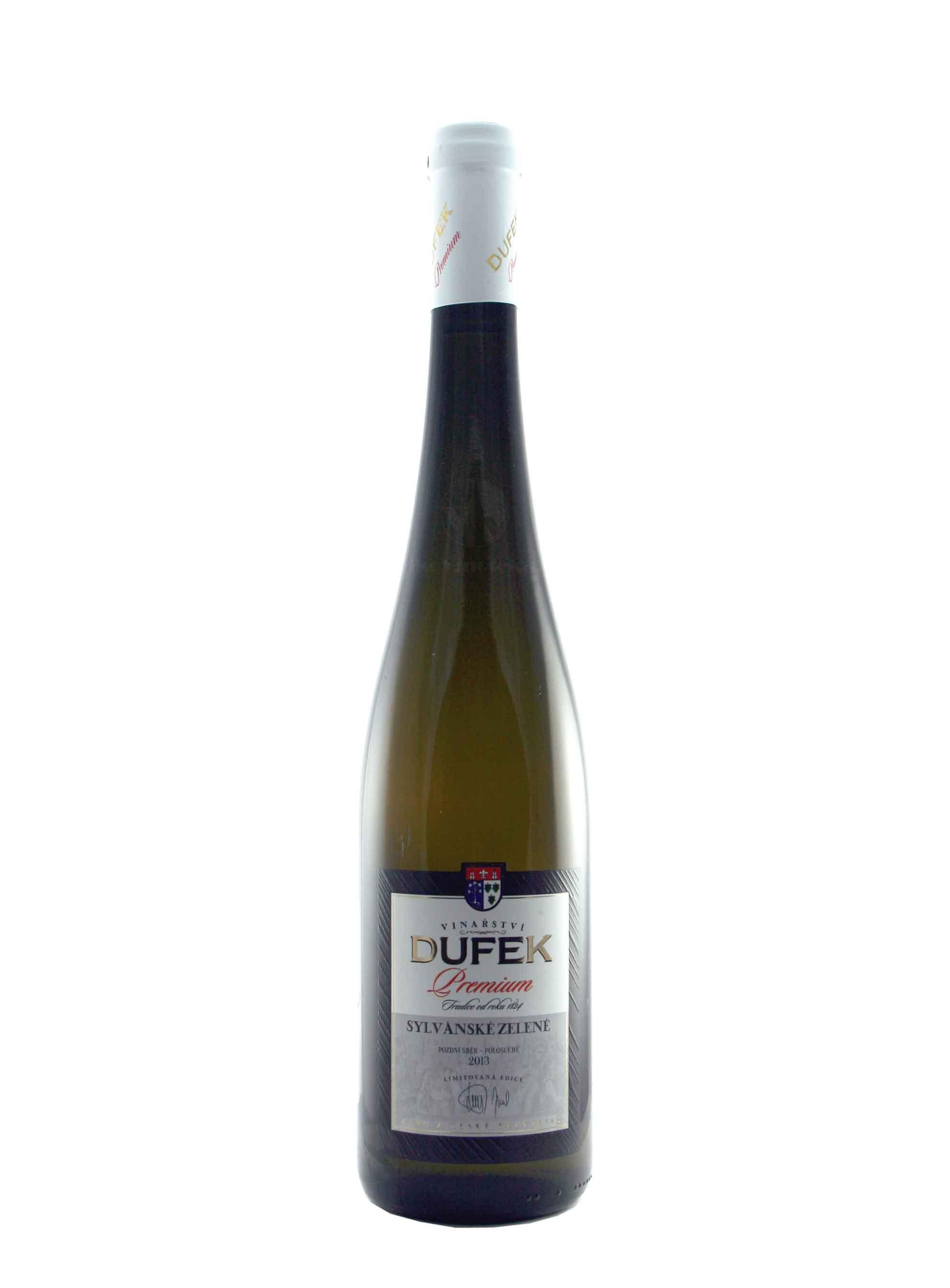 Sylvánské zelené, Premium, Pozdní sběr, 2013, Vinařství Dufek, 0.75 l