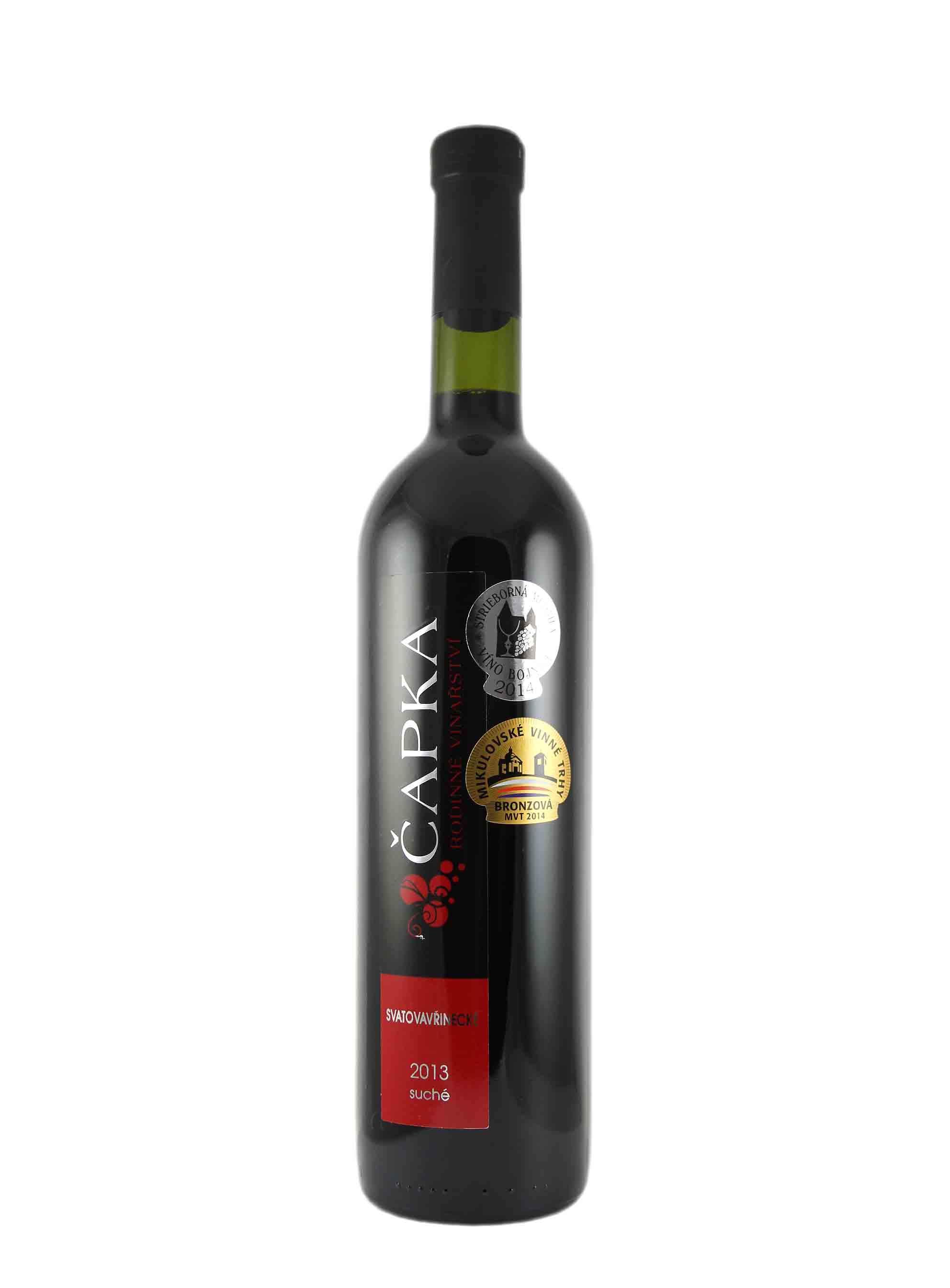 Svatovavřinecké, Pozdní sběr, 2013, Vinařství Čapka, 0.75 l