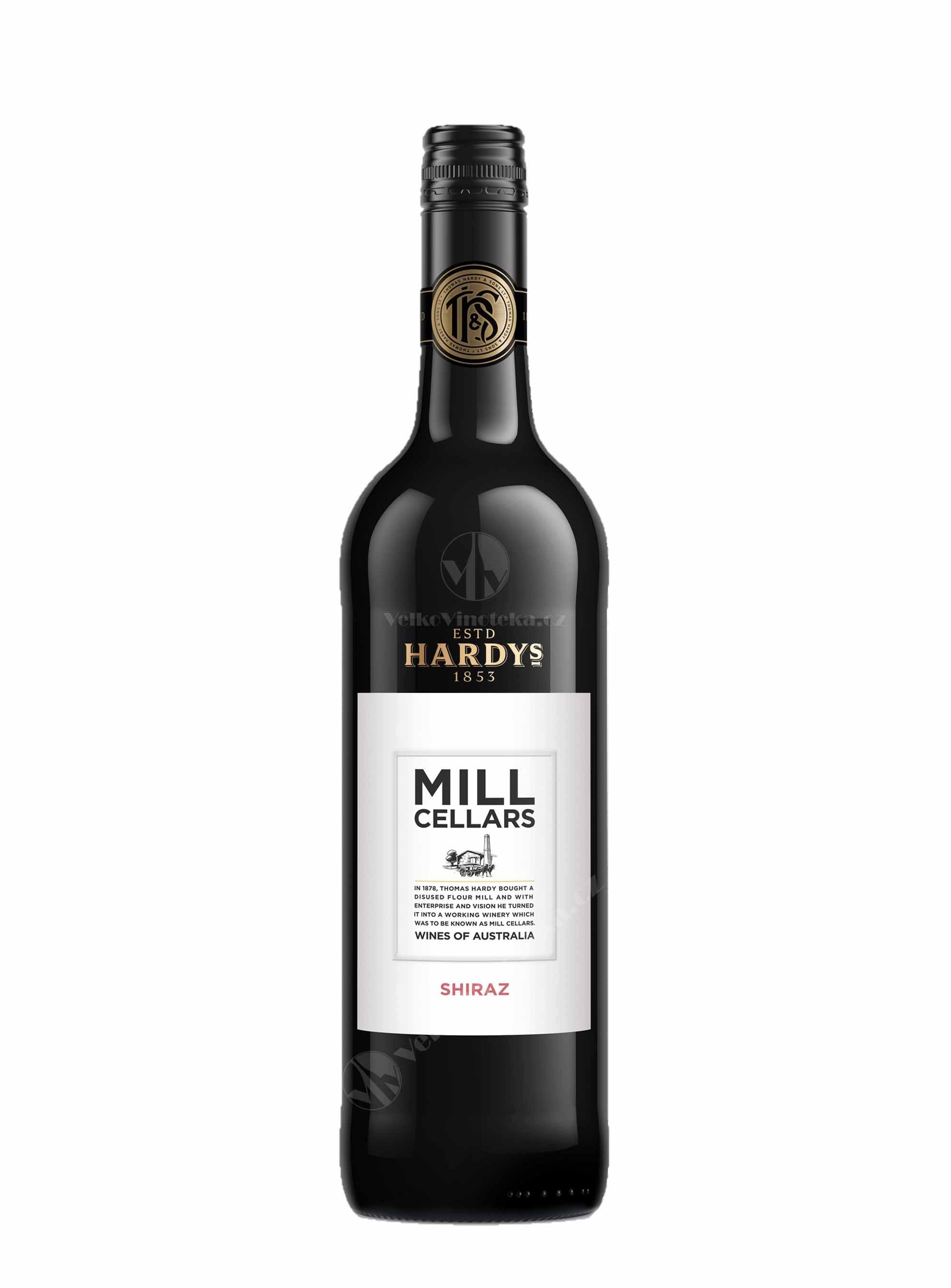Shiraz, Mill Cellars, 2016, Hardys, 0.75 l
