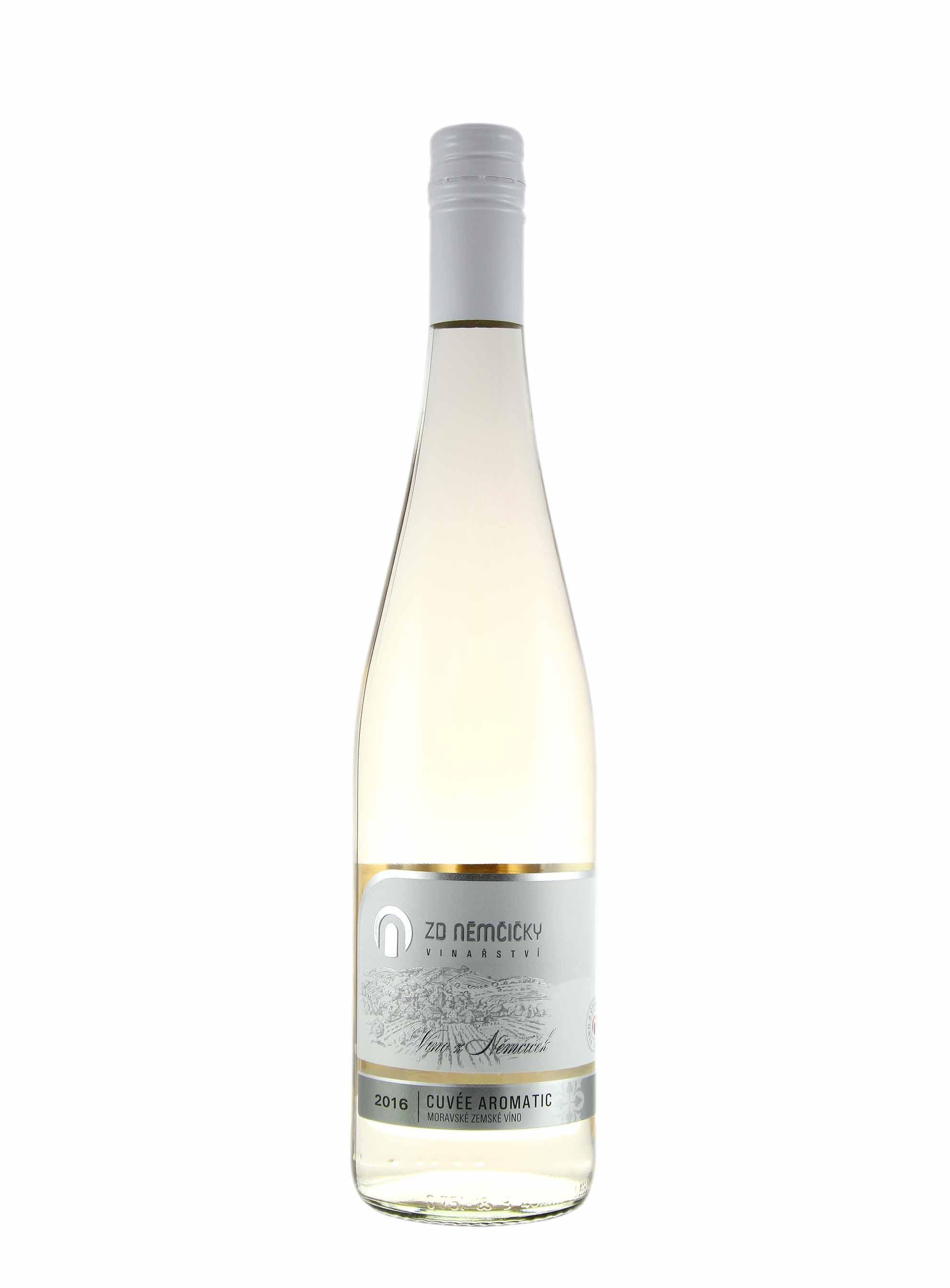 Cuvée Aromatic, Klasik, Zemské - Klaret, 2016, ZD Němčičky, 0.75 l