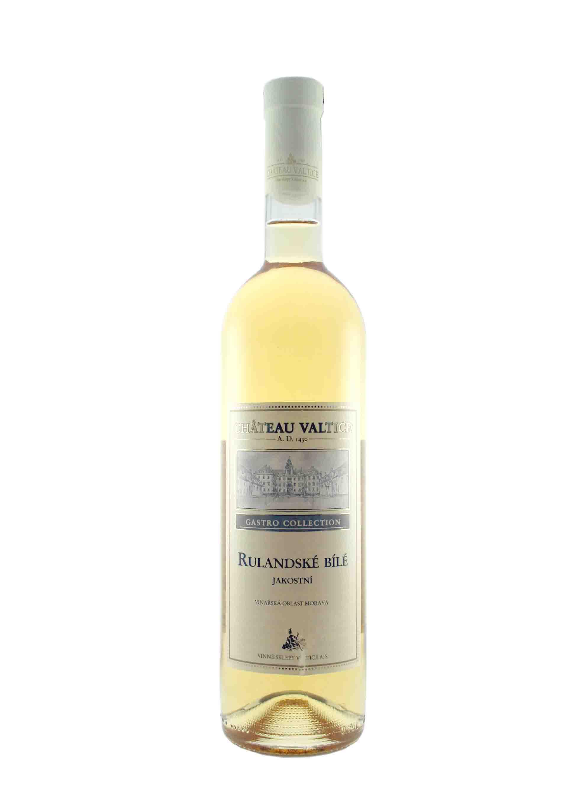 Rulandské bílé, Gastro Collection, Jakostní odrůdové, Château Valtice, 0.75 l