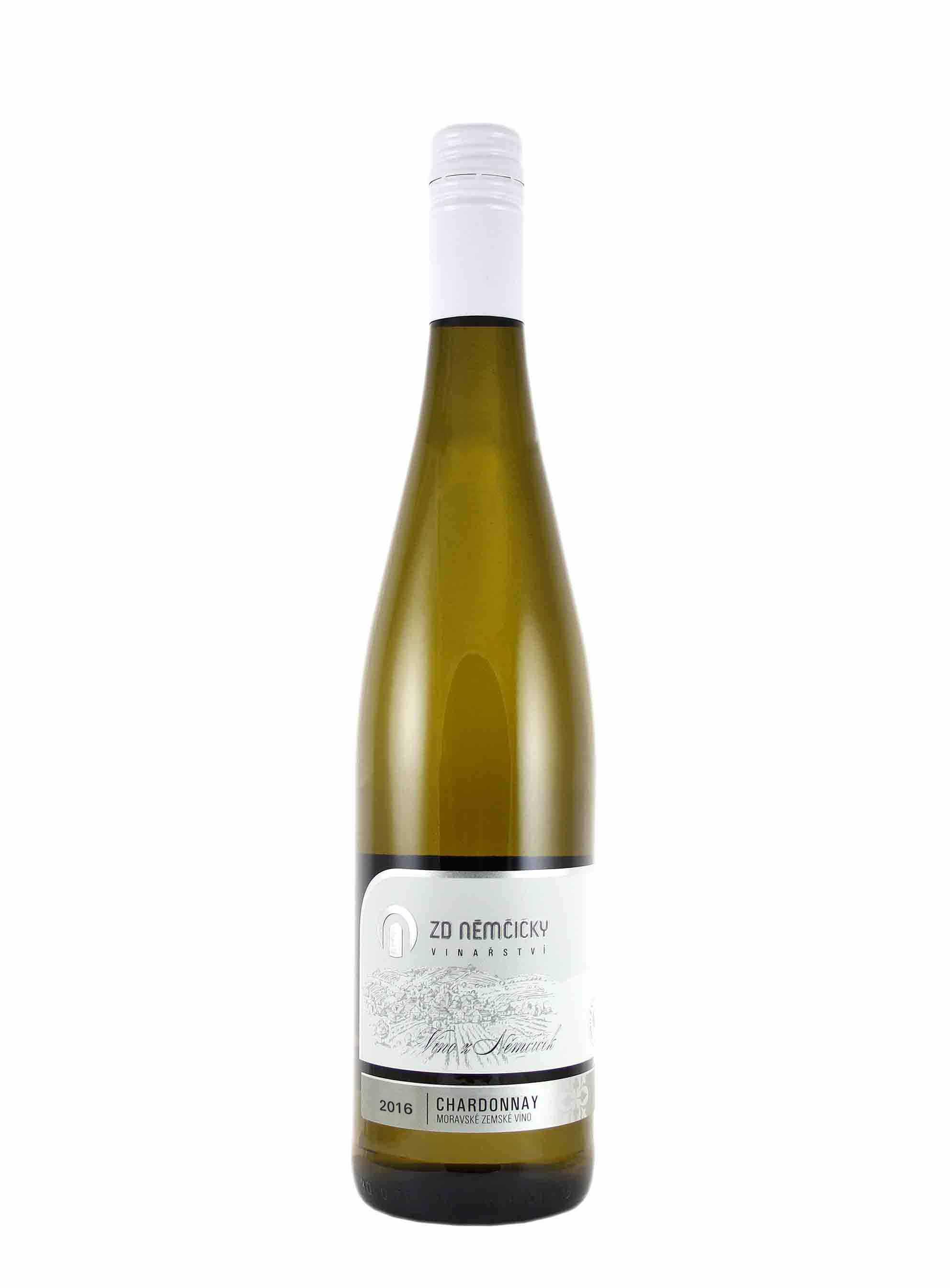 Chardonnay, Klasik, Zemské, 2016, ZD Němčičky, 0.75 l