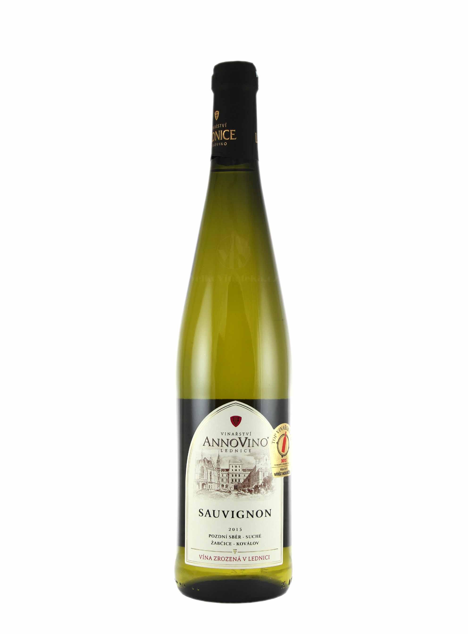 Sauvignon, Pozdní sběr, 2015, Château Lednice, 0.75 l