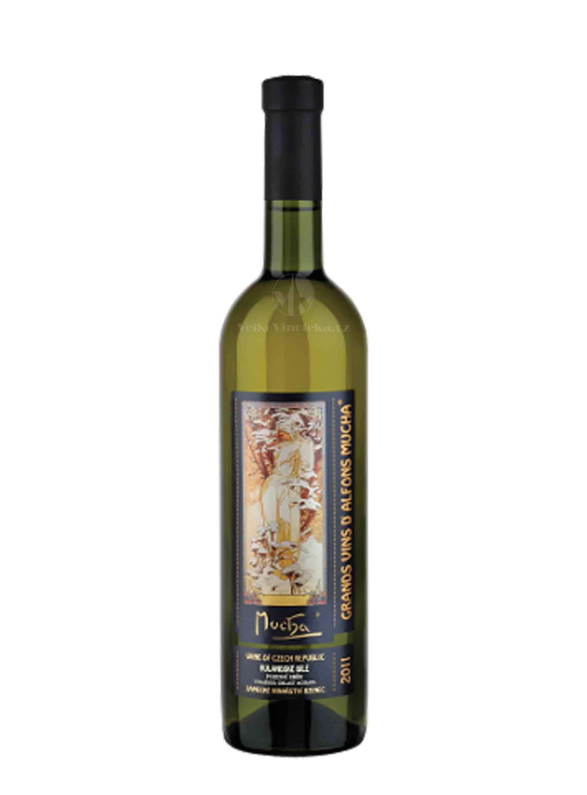 Rulandské bílé, Mucha, Pozdní sběr, 2012, Zámecké vinařství Bzenec, 0.75 l