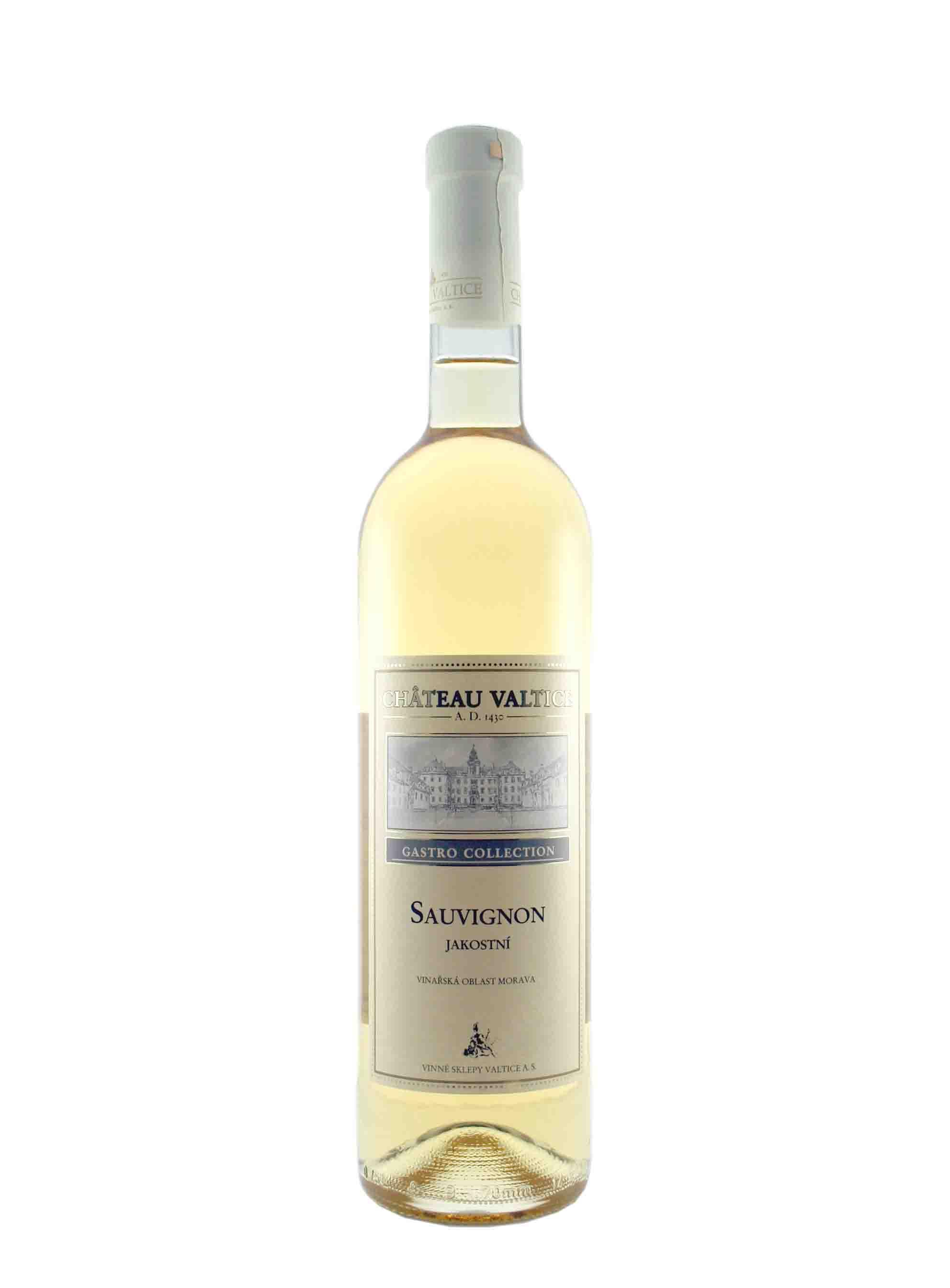 Sauvignon, Gastro Collection, Jakostní odrůdové, Château Valtice, 0.75 l