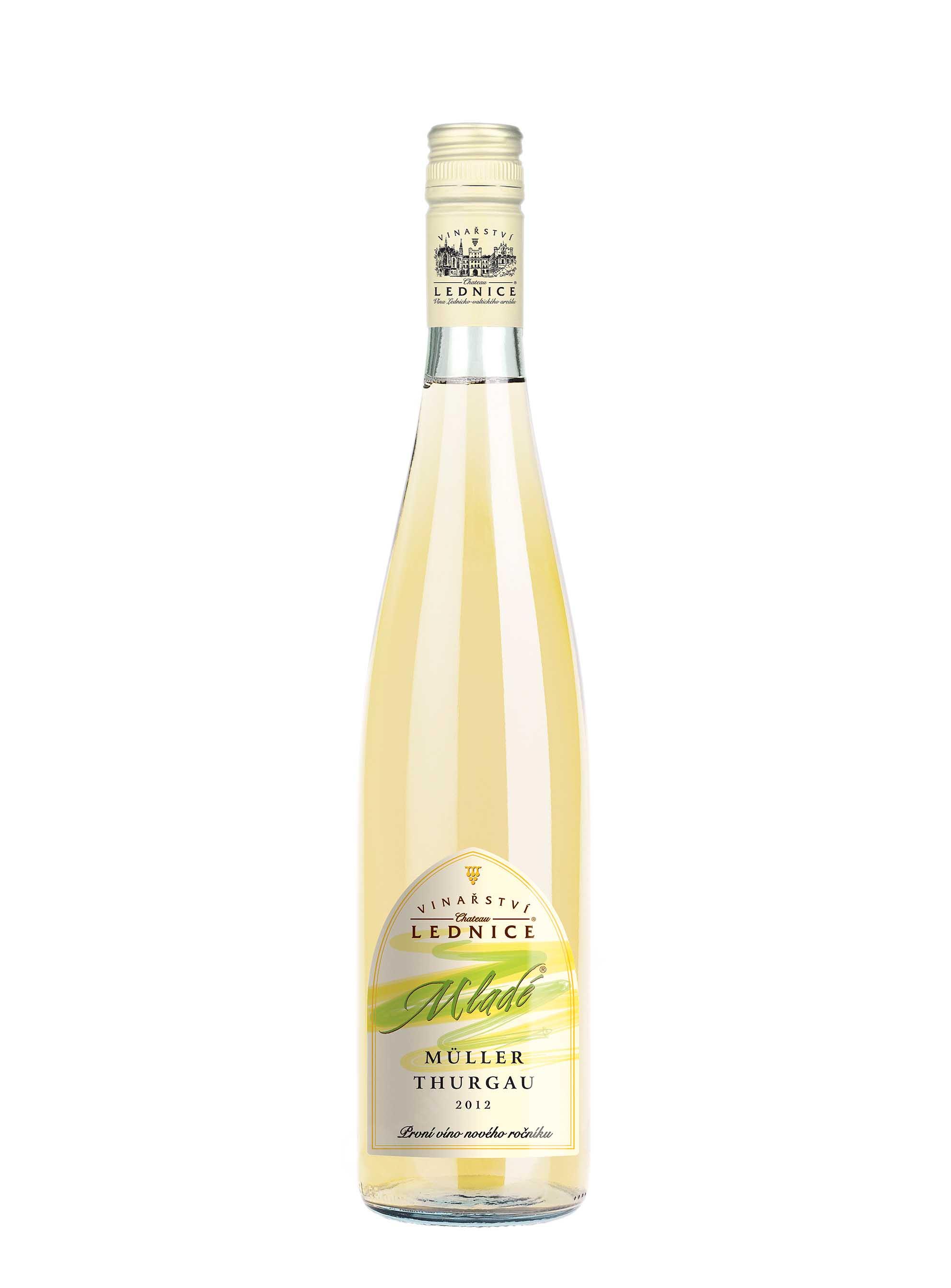 Müller Thurgau, Mladé víno, 2017, Château Lednice, 0.75 l