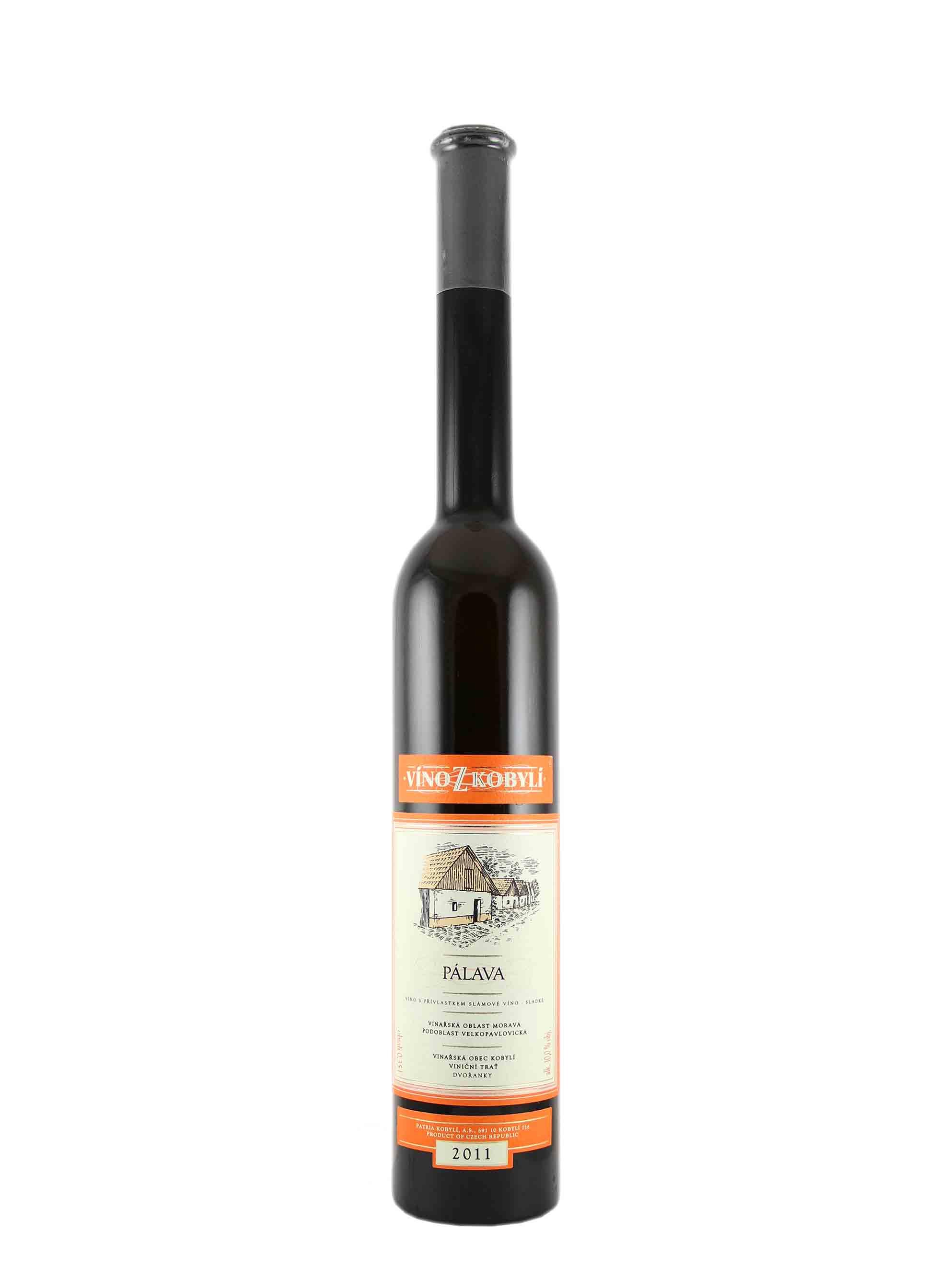 Pálava, Slámové víno, 2011, Patria Kobylí, 0.35 l