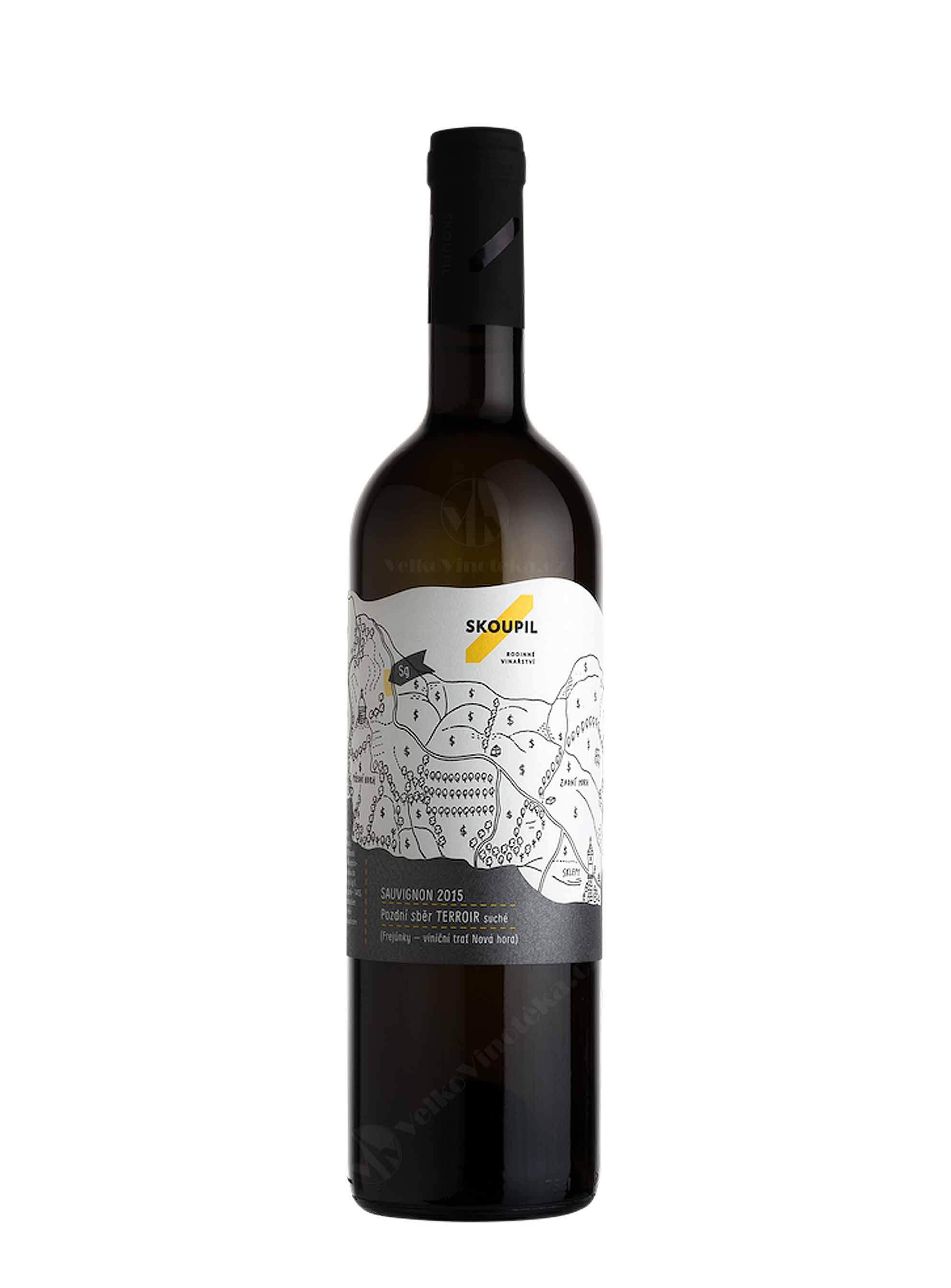 Sauvignon, Terroir, Pozdní sběr, 2016, Vinařství Petr Skoupil, 0.75 l