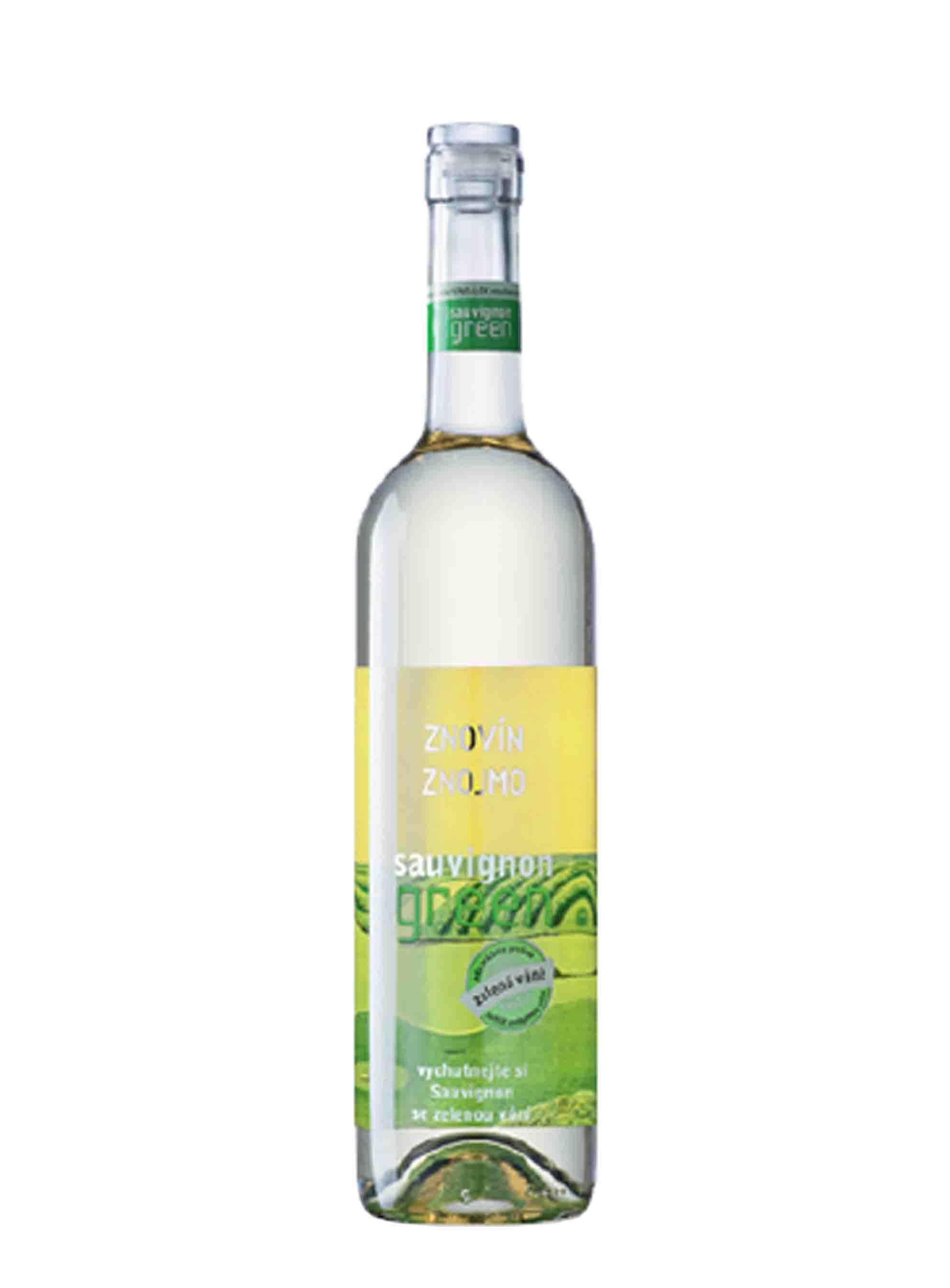 Sauvignon, Green, Pozdní sběr, 2015, Znovín Znojmo, 0.75 l